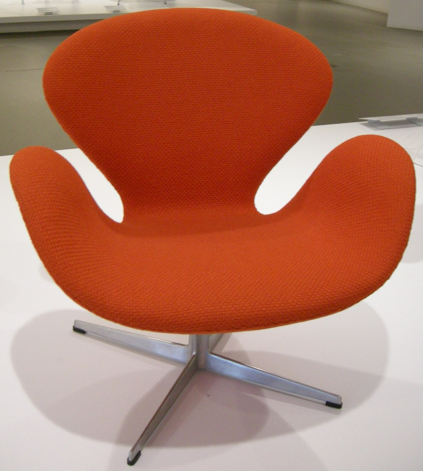 Arne Jacobsen Swan Chair File:ngv Design, Arne Jacobsen, Swan Chair, 1958.jpg ...
