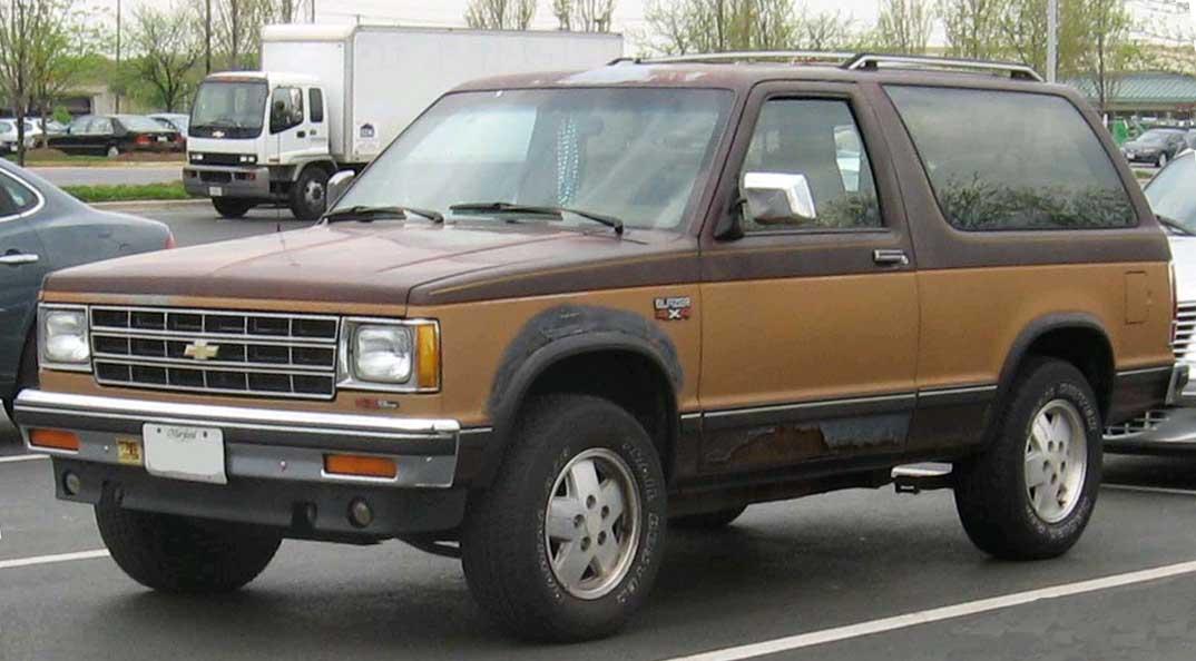 1984 chevy s10 blazer fuse box