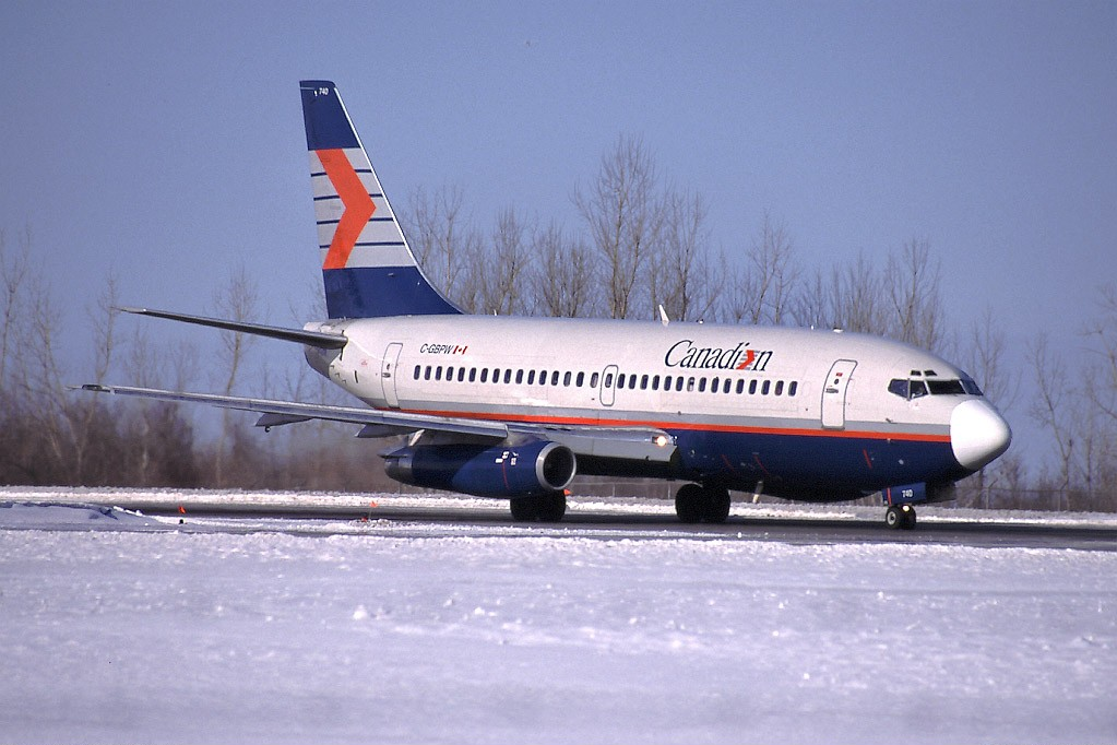 Canadian Airlines - Boeing 737-275Adv OLD AIRLINES Pinterest - boeing aerospace engineer sample resume