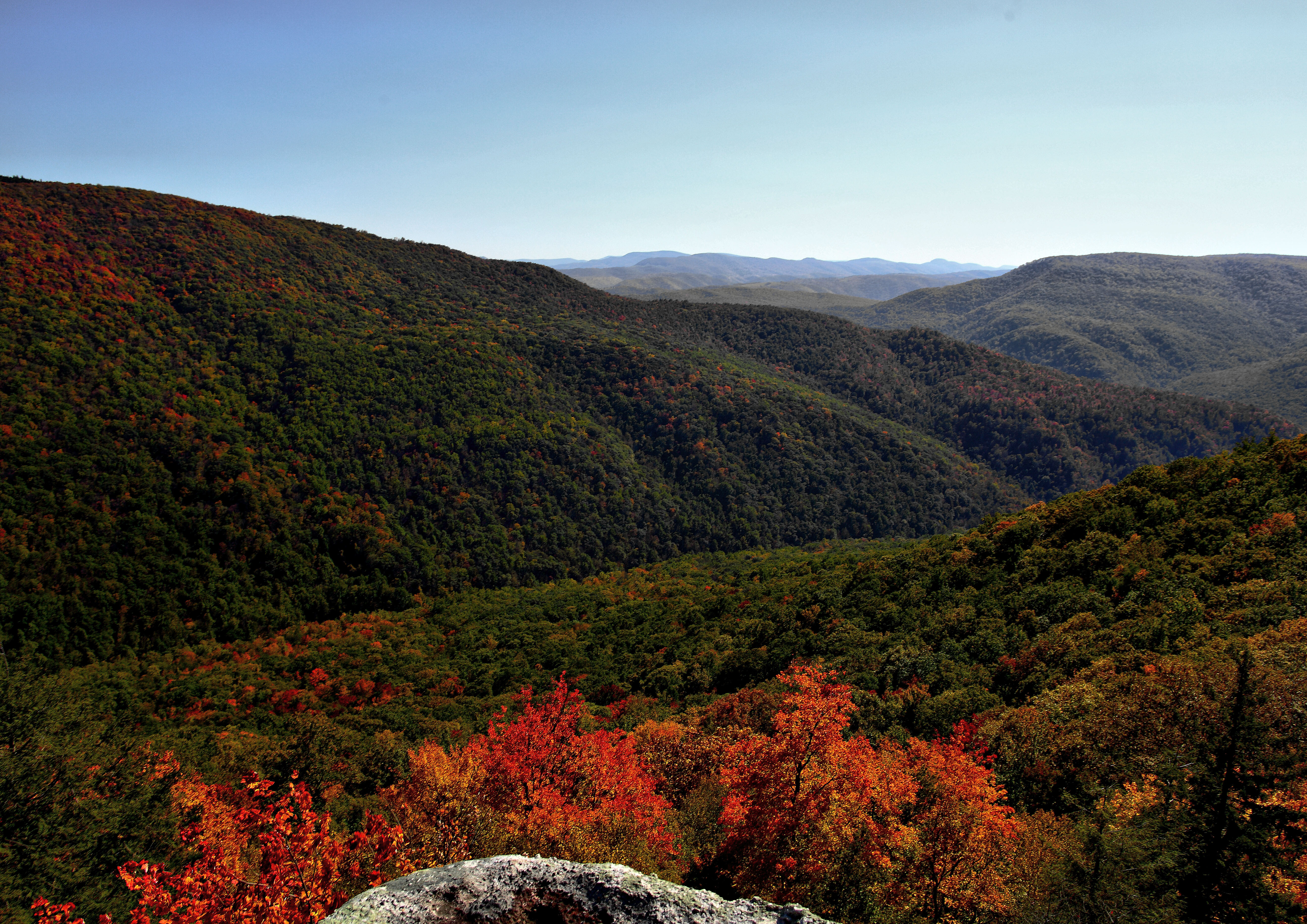 Free Computer Fall Wallpaper File Autumn Colors Changing Wv Mountains Virginia