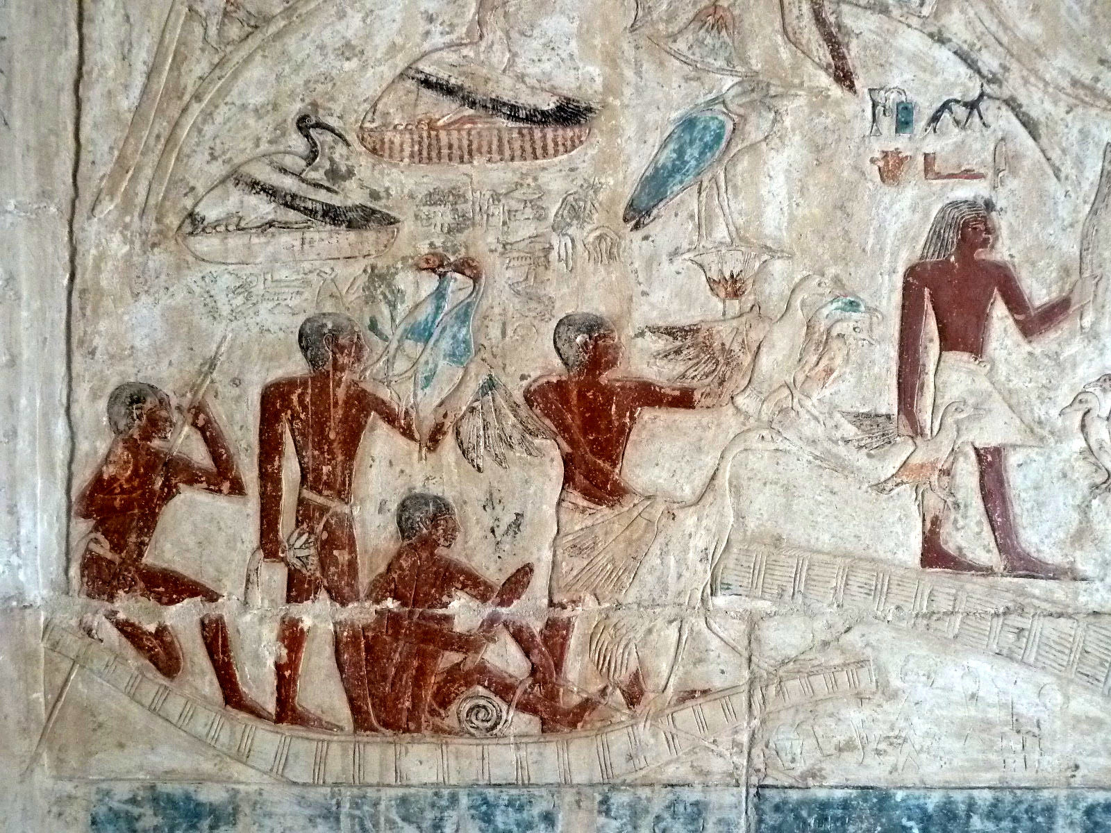 Arte Egipcio Wikipedia Fichier Ancient Egyptians On A Small Craft Mastaba Of