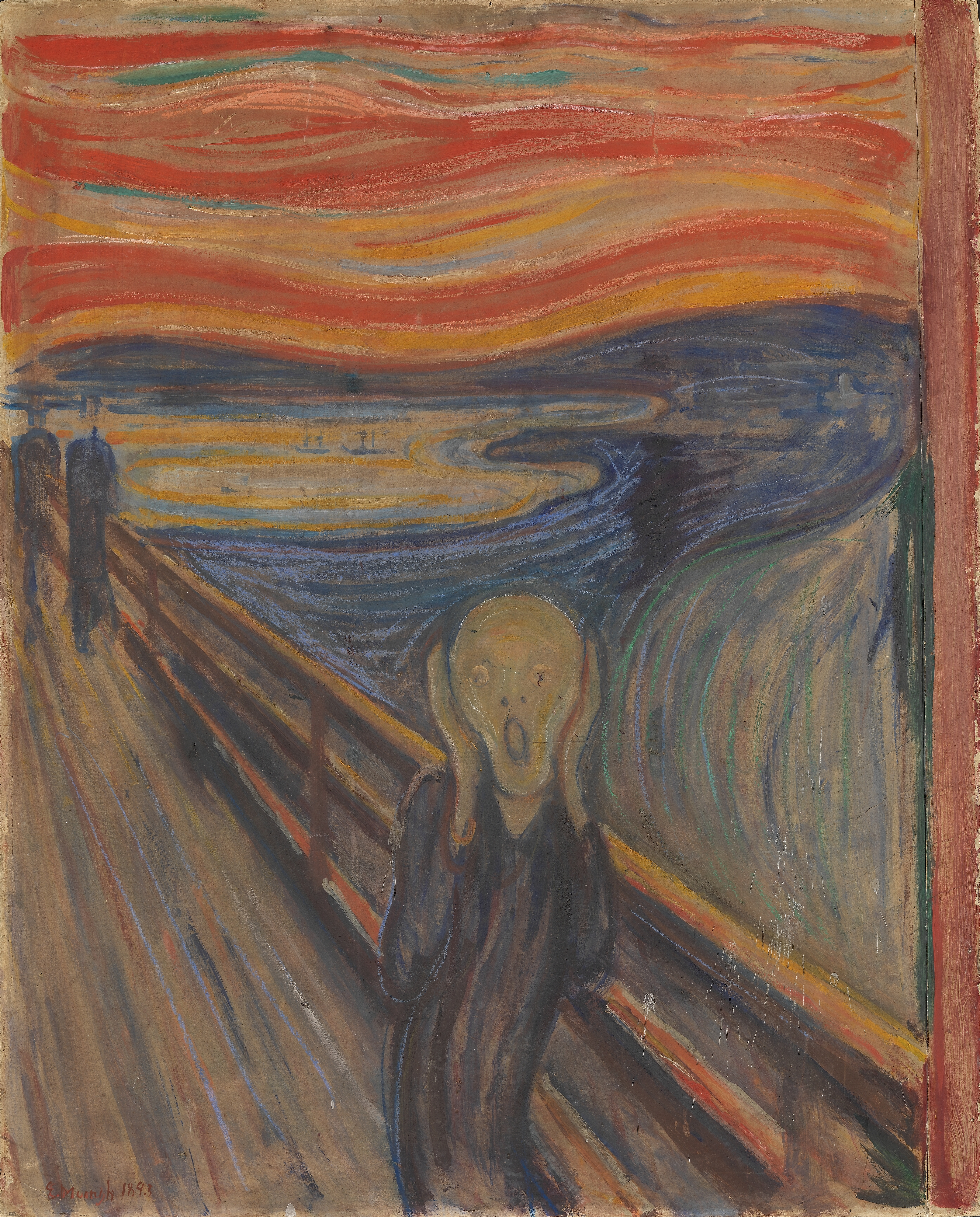 Munch Cuadros The Scream Wikipedia