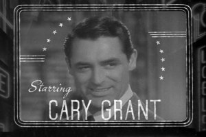 Cary Grant in the Philadelphia Story - Photo in the Public Domain