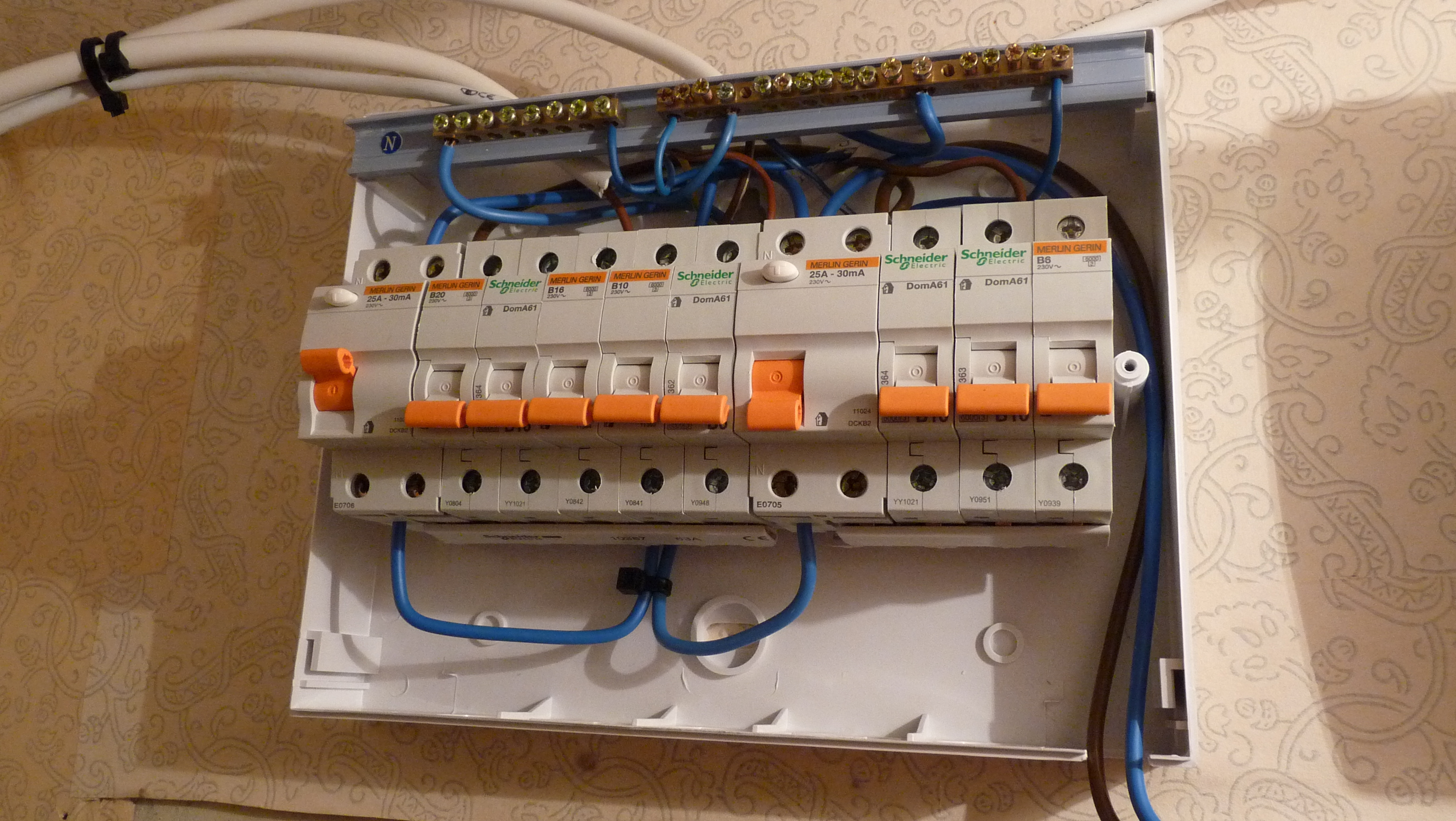 home wiring junction box