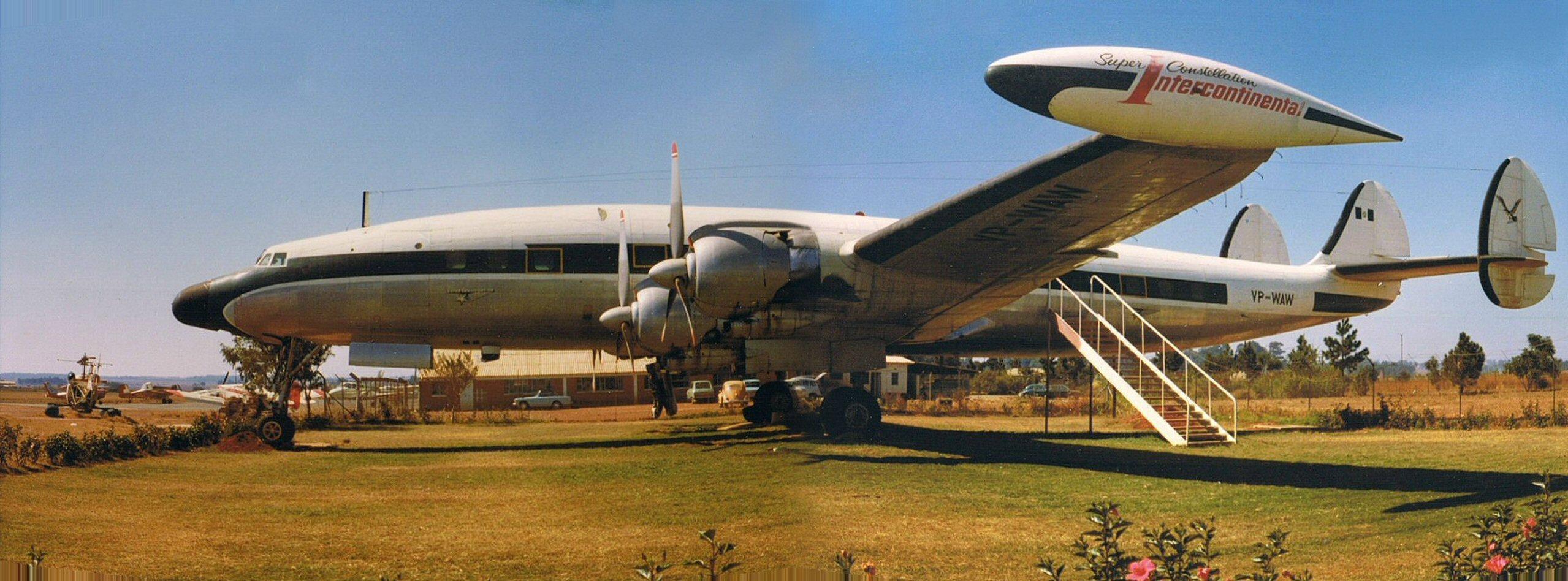 Old Time Car Wallpaper File Super Constellation At Salisbury Airport Rhodesia Jpg