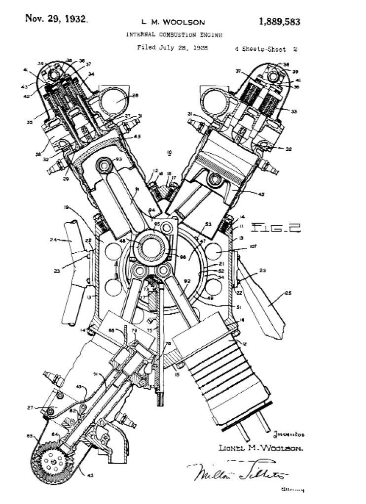 horizontally opposed aircraft engine diagram
