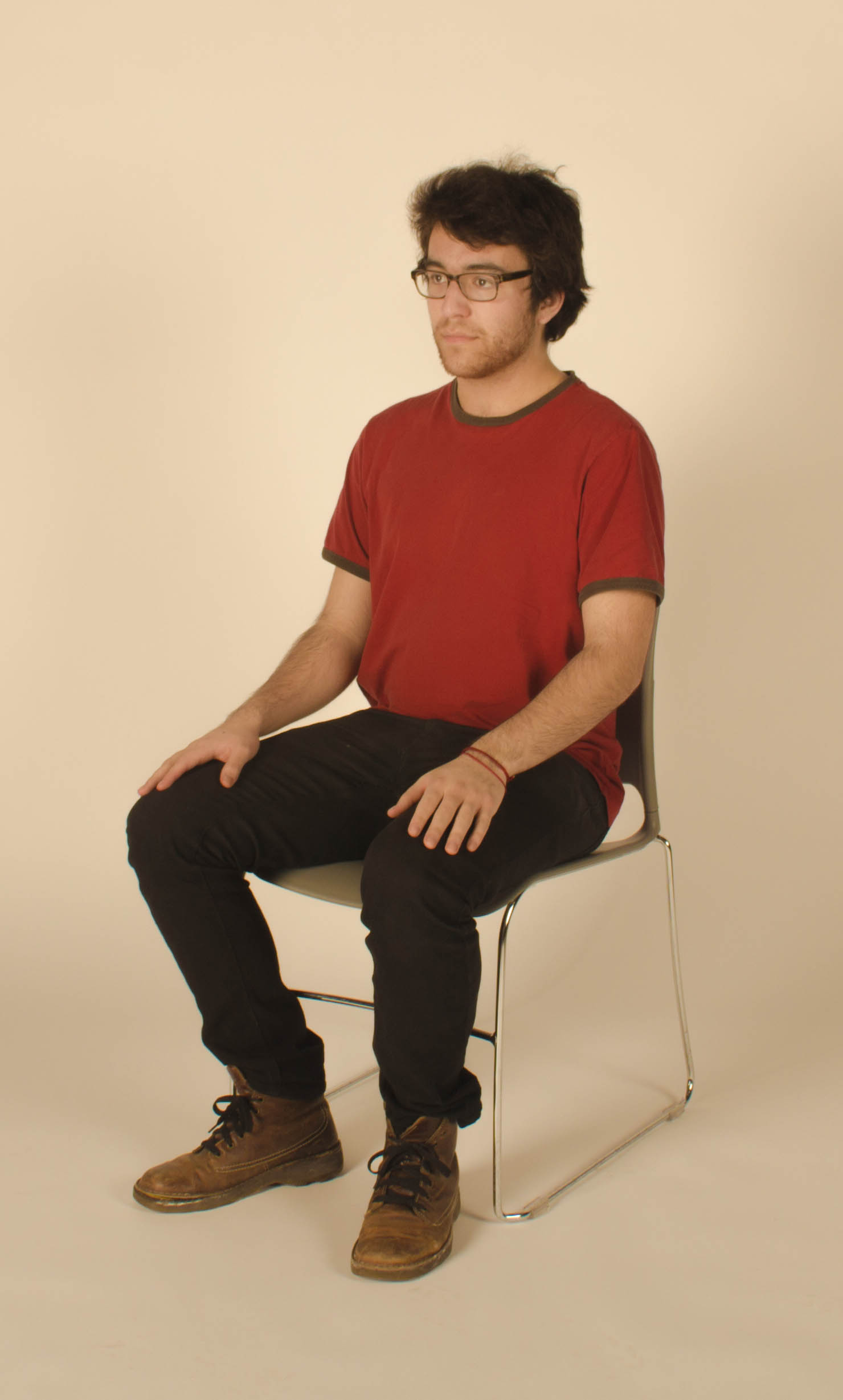 Fileyoung Man Sitting In A Chair Feb 2014jpg
