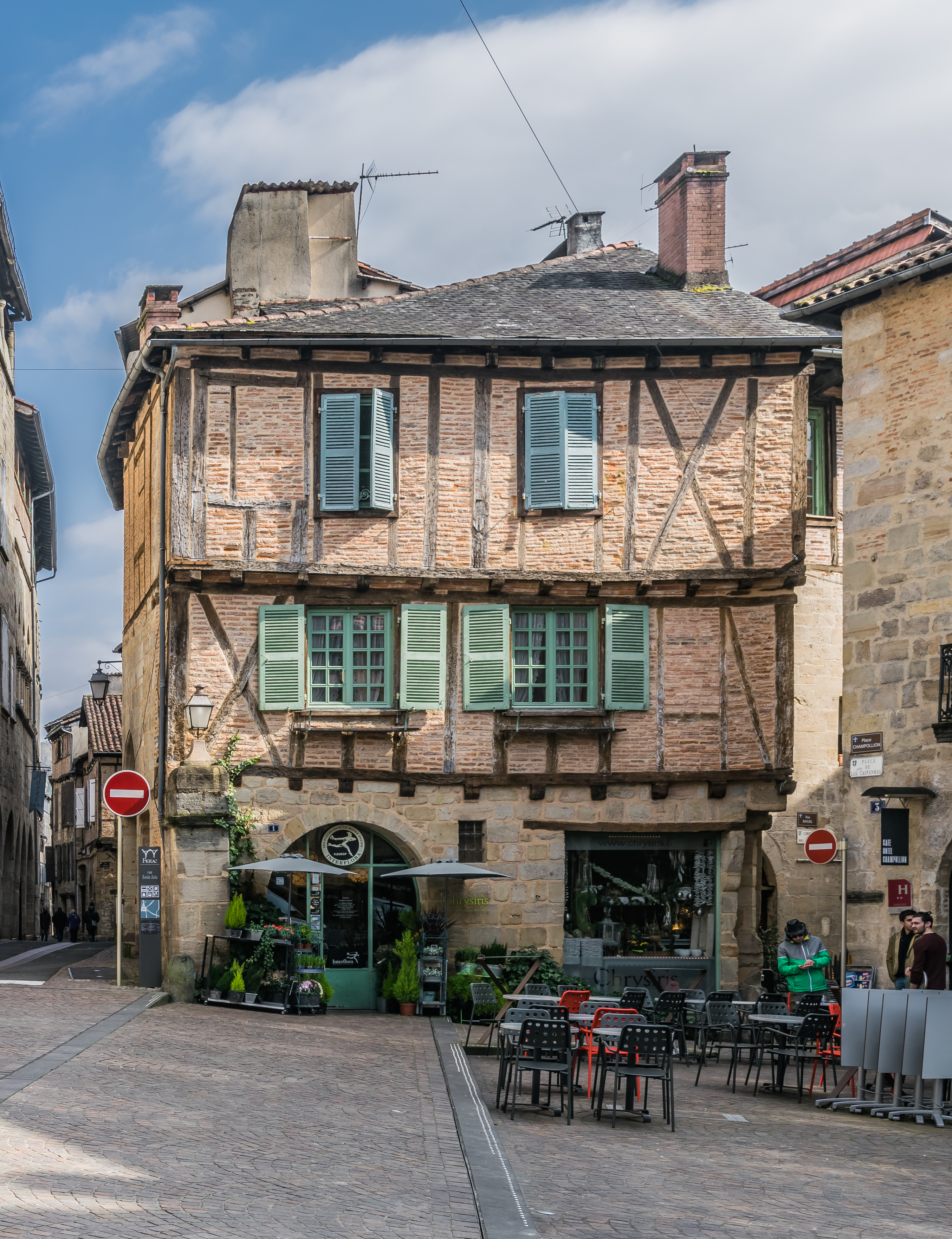Location Figeac File 2 Place Champollion In Figeac Jpg Wikimedia Commons