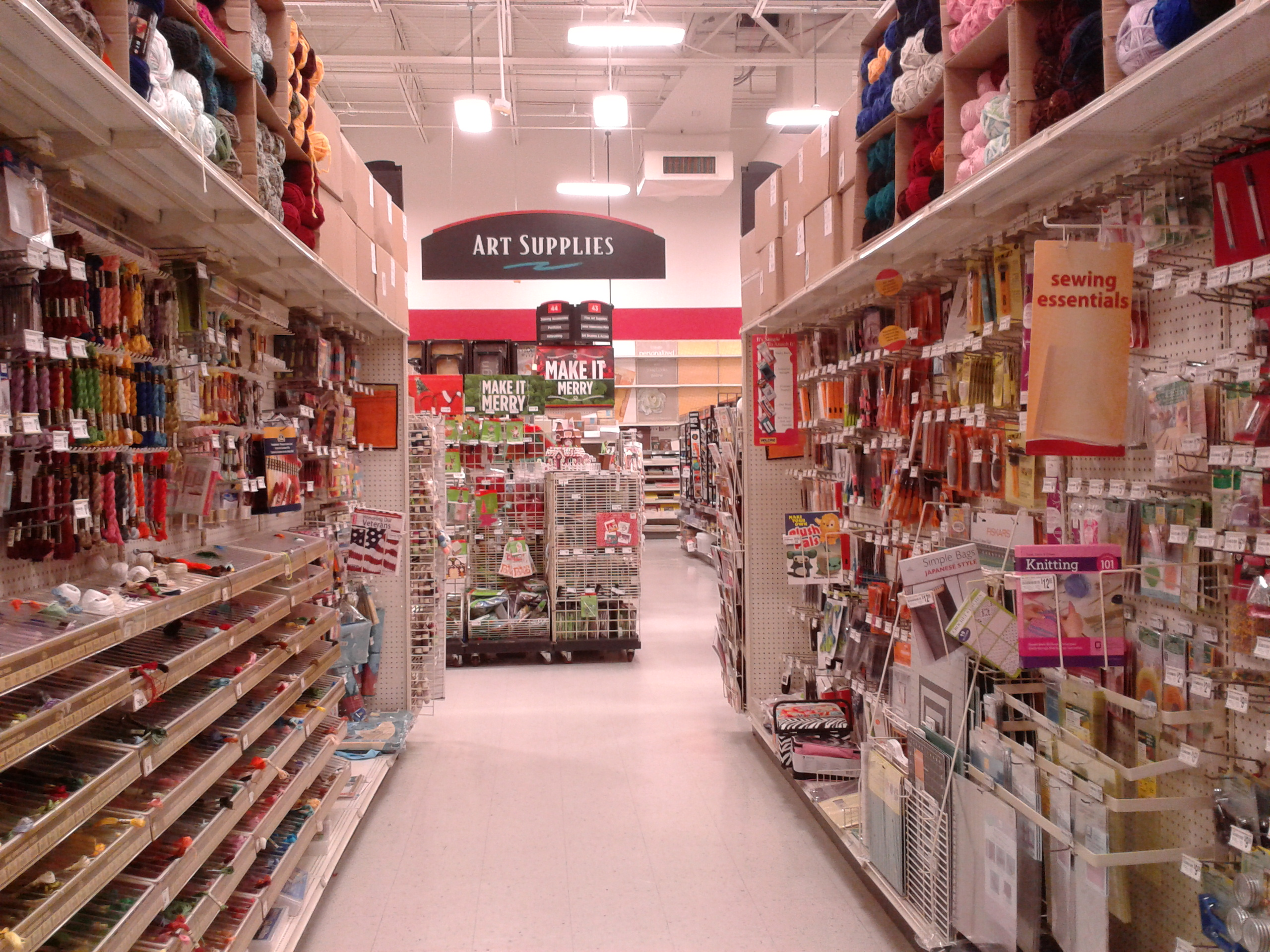 Arts And Crafts Store 20 Thoughts Sorority Girls Have In Craft Stores