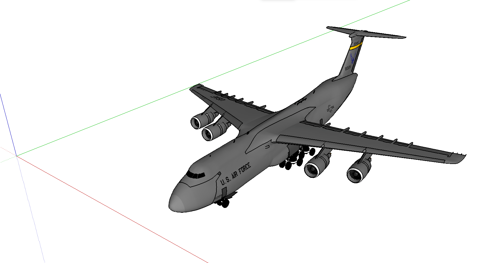 Sketchup Nederlands File C 5 Galaxy Sketchup Model Png Wikimedia Commons