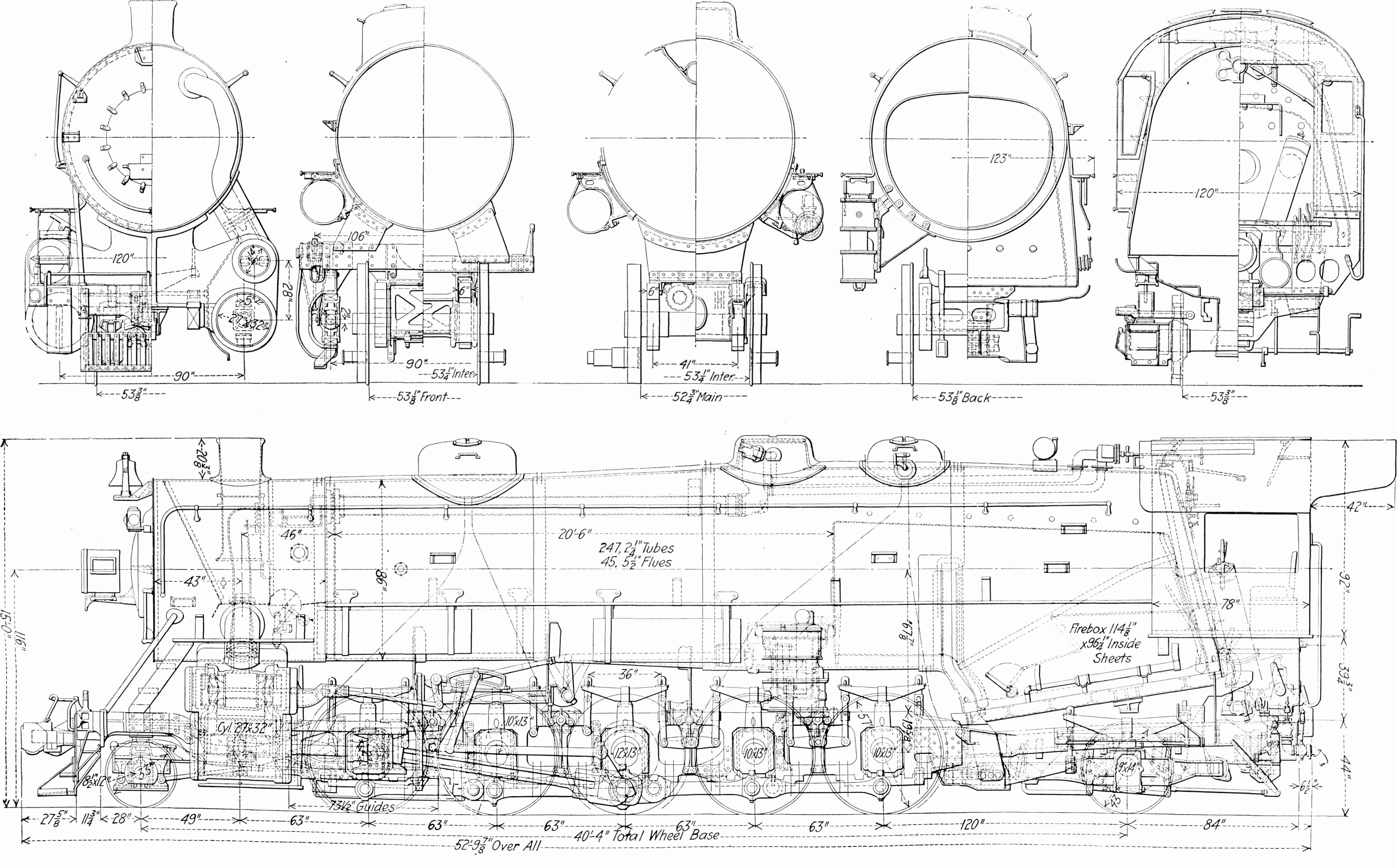 steam engine schematics