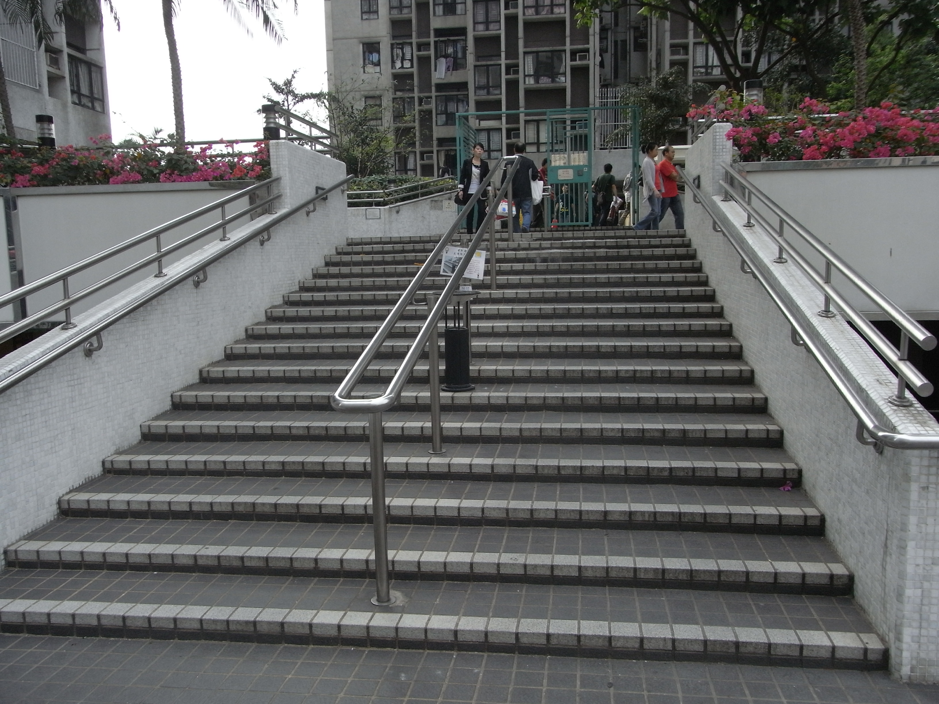 Outside Stairs File Hk 油麻地 Yamatei 駿發花園 Prosperous Garden Outdoor Stairs