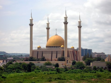 Abuja National Mosque in Nigeria, Africa