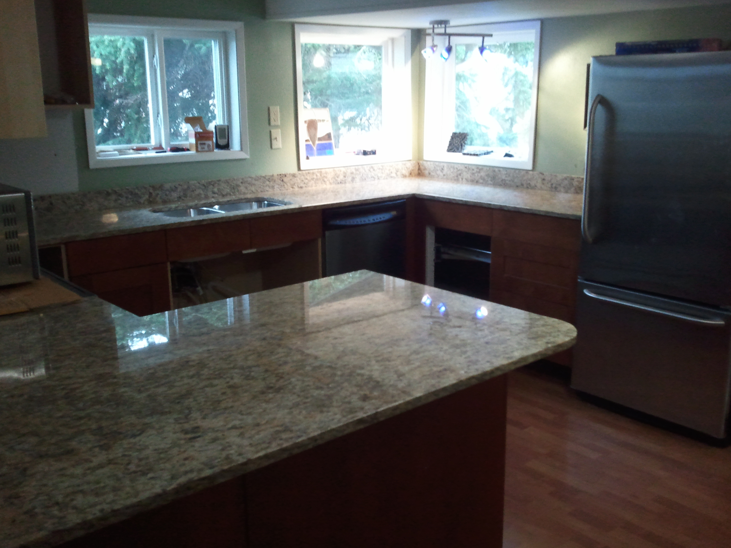 blog kitchen countertop material Which granite countertop color goes best with your kitchen combo