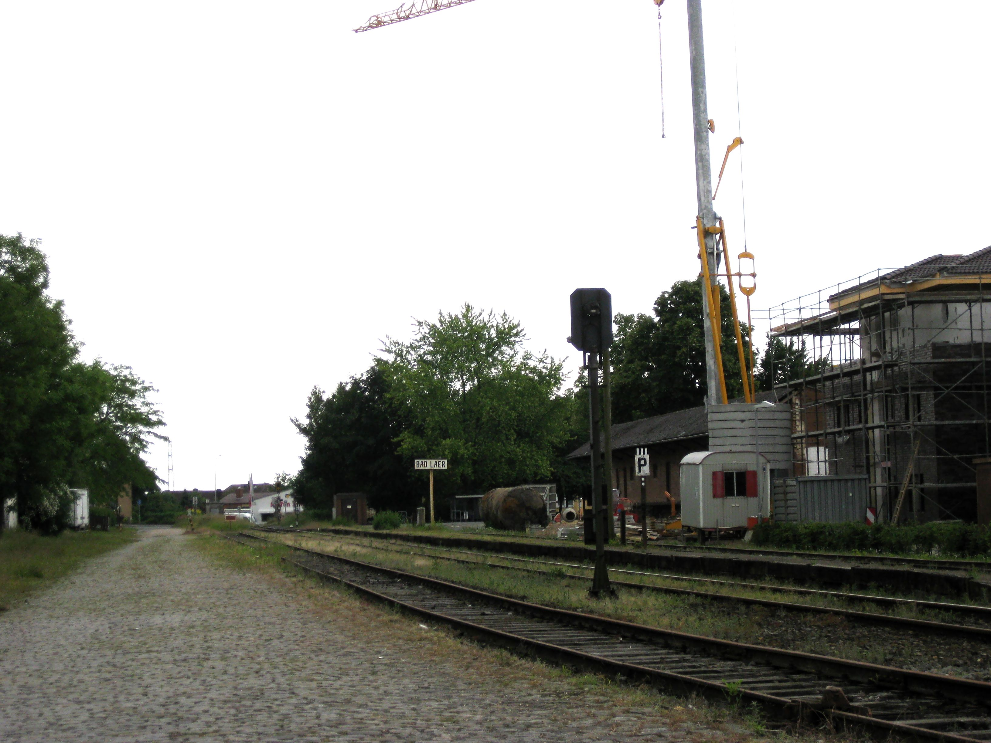 File Bad Laer Bahnhof Jpg Wikimedia Commons - Bad Laer