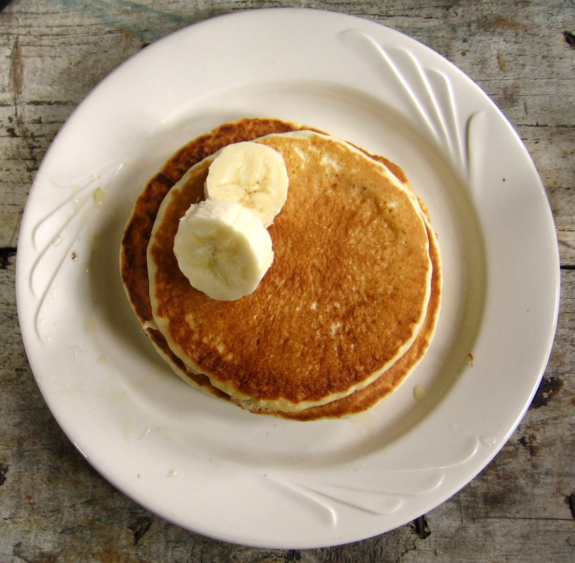 Banana on Pancake