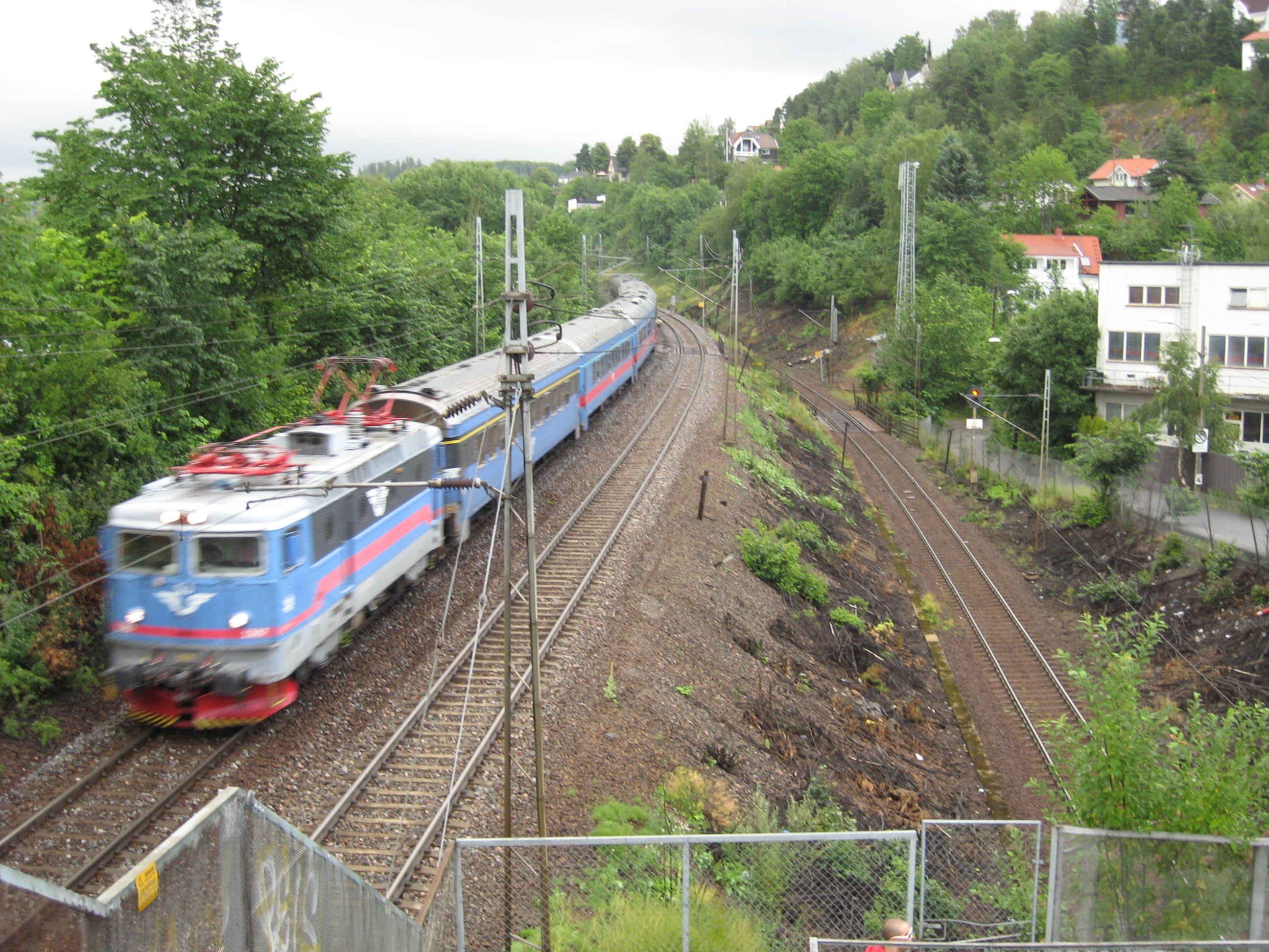 Norway Train File Swedish Train In Norway Jpg Wikimedia Commons