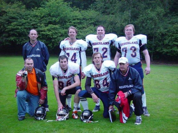 Fileamerican Football Team Dutch National Playersjpg
