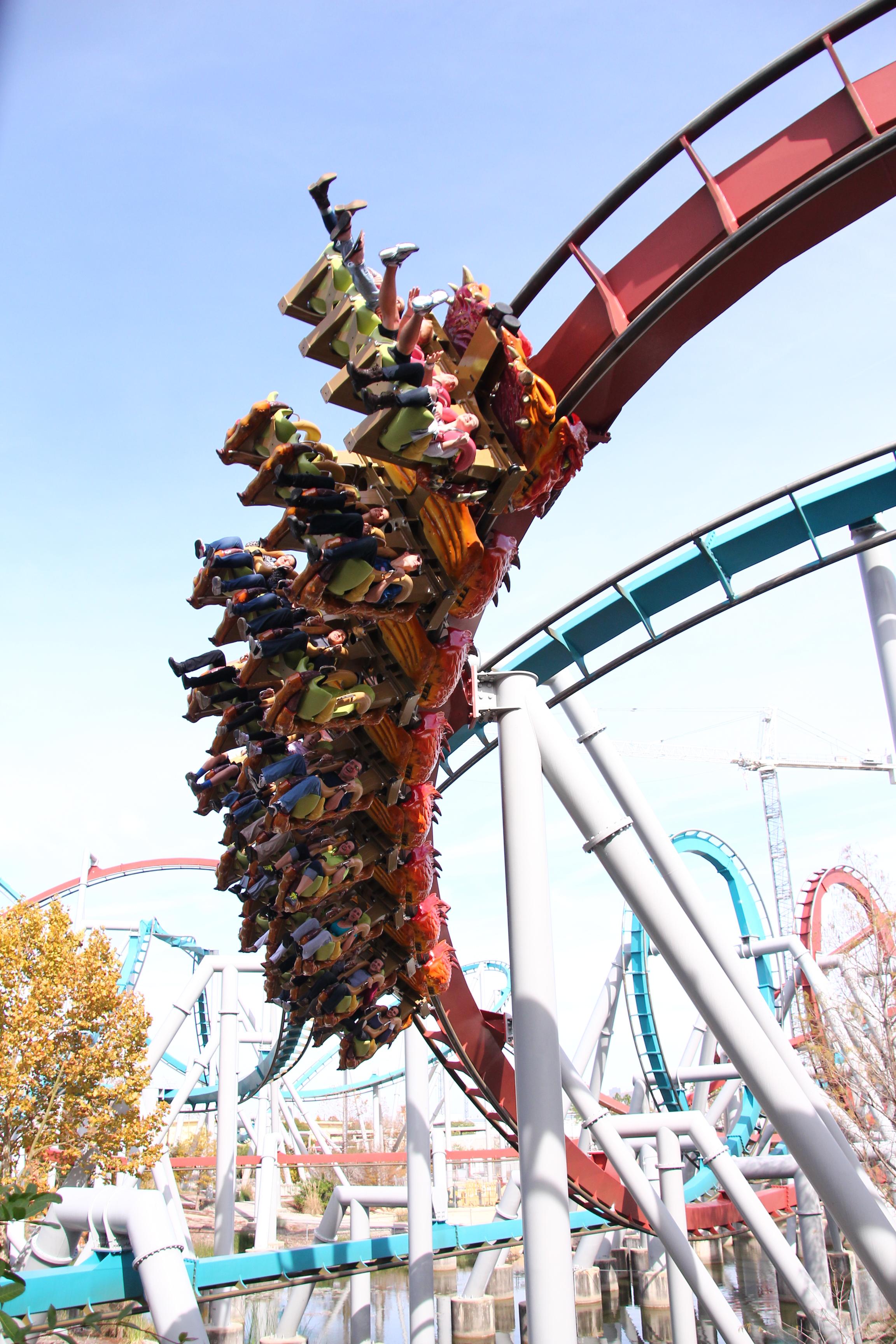 Universal Studios Dragon Roller Coaster