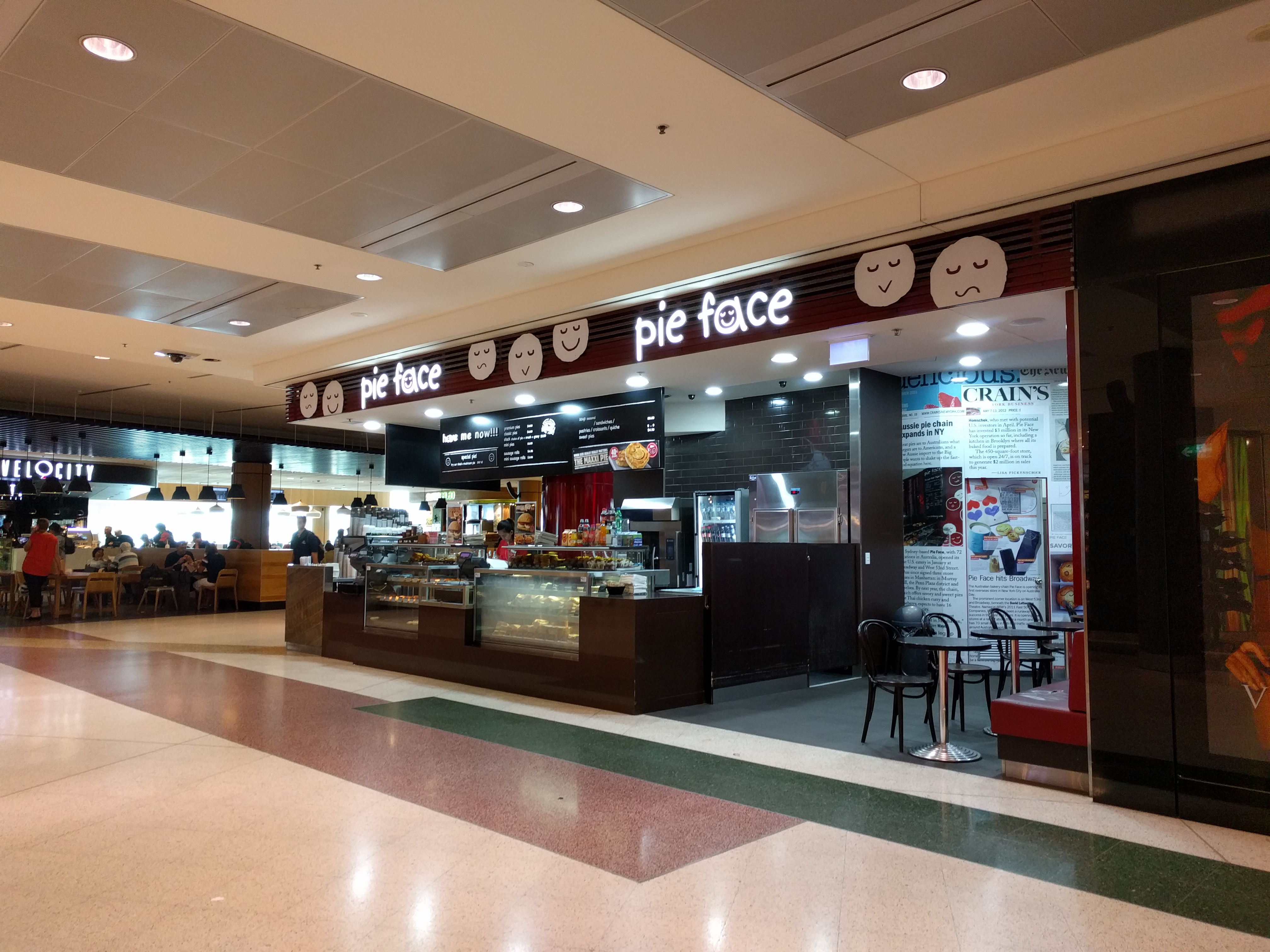 Sydney Airport Shops File Pie Face Store At Sydney Airport January 2017 Jpg Wikimedia