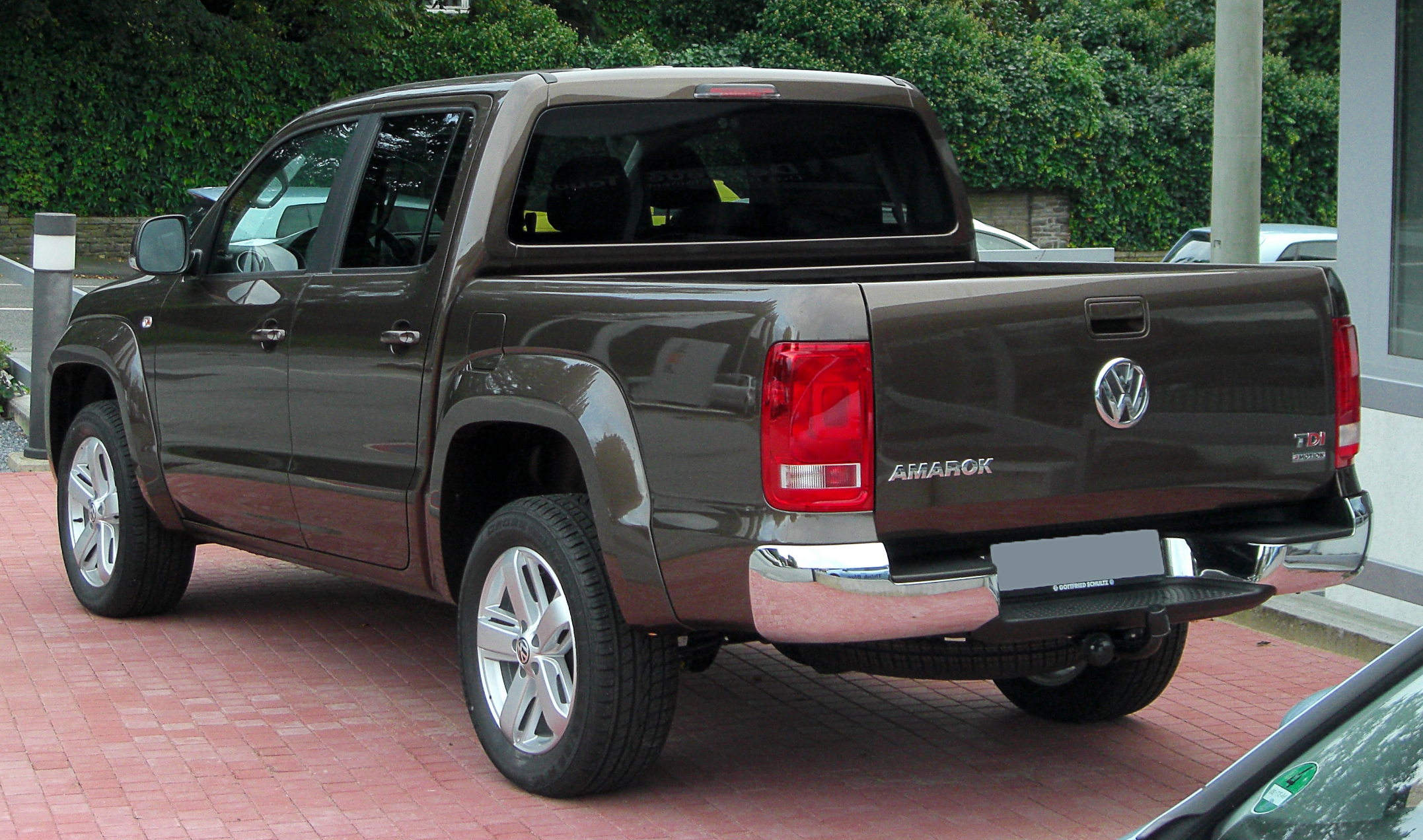 Vw Amarok Dimensions File Vw Amarok 2 Tdi 4motion Dc Highline Rear 20100919