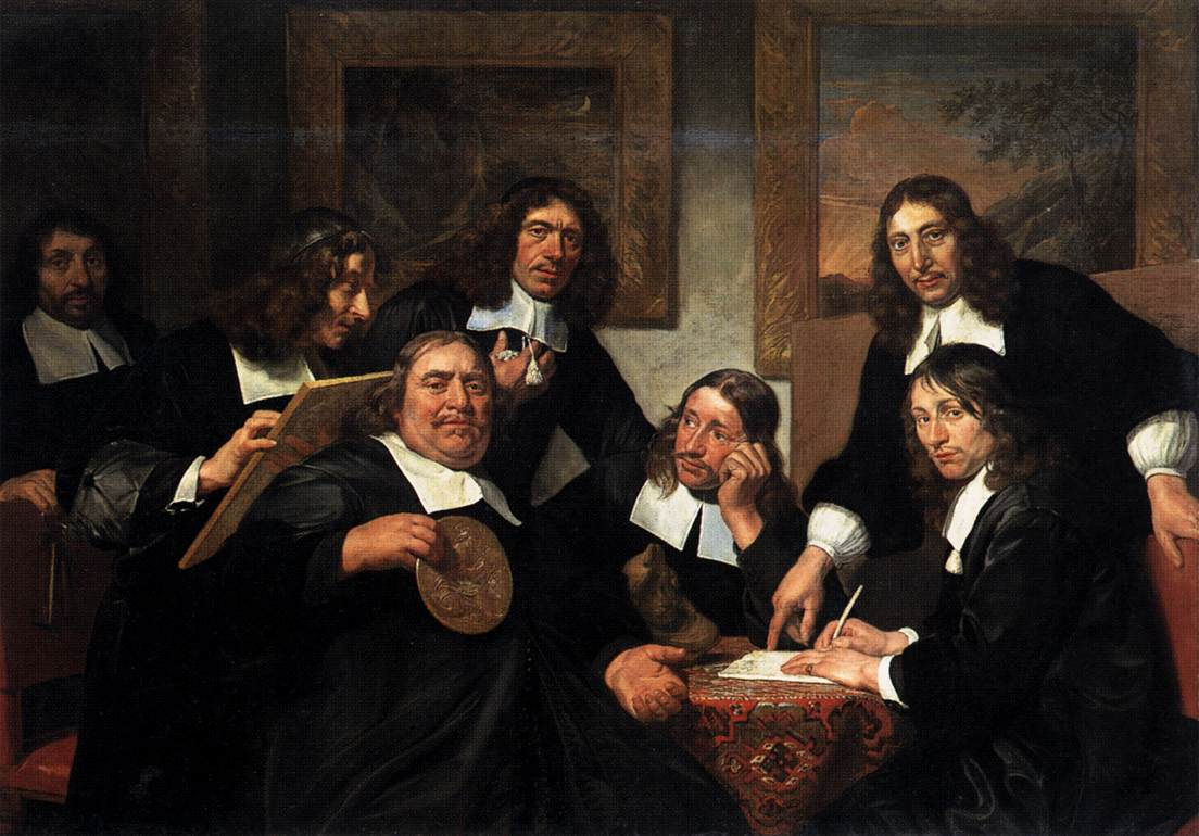 Pintura Holandesa Siglo Xvii File Jan De Bray The Governors Of The Guild Of St Luke