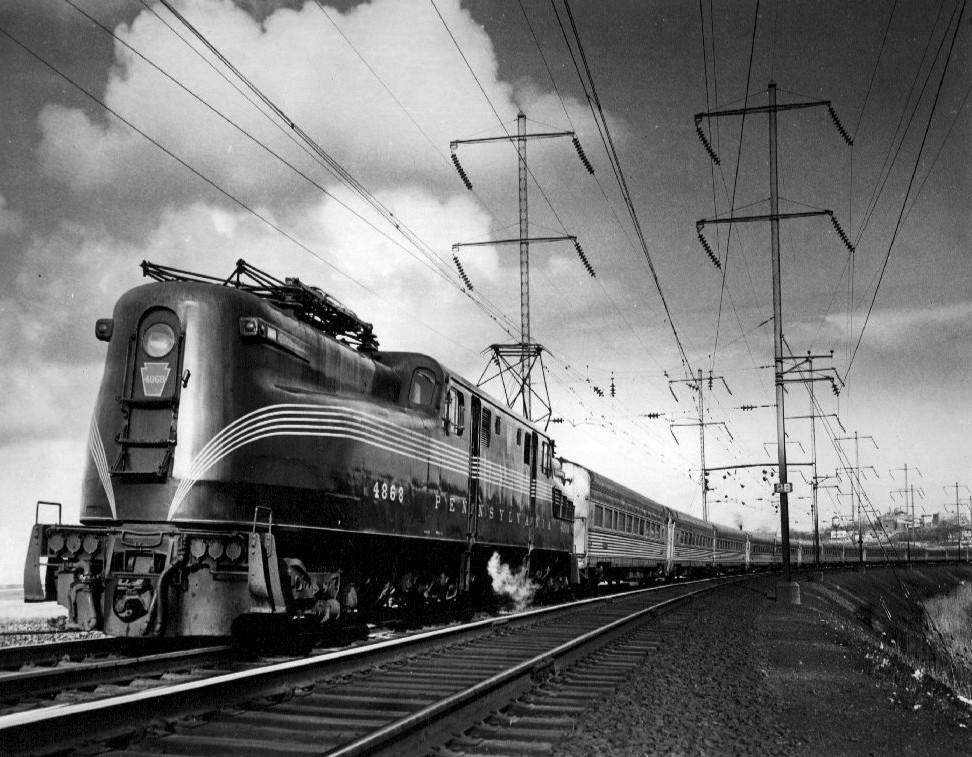 Pennsylvania Railroad class GG1 - Wikipedia