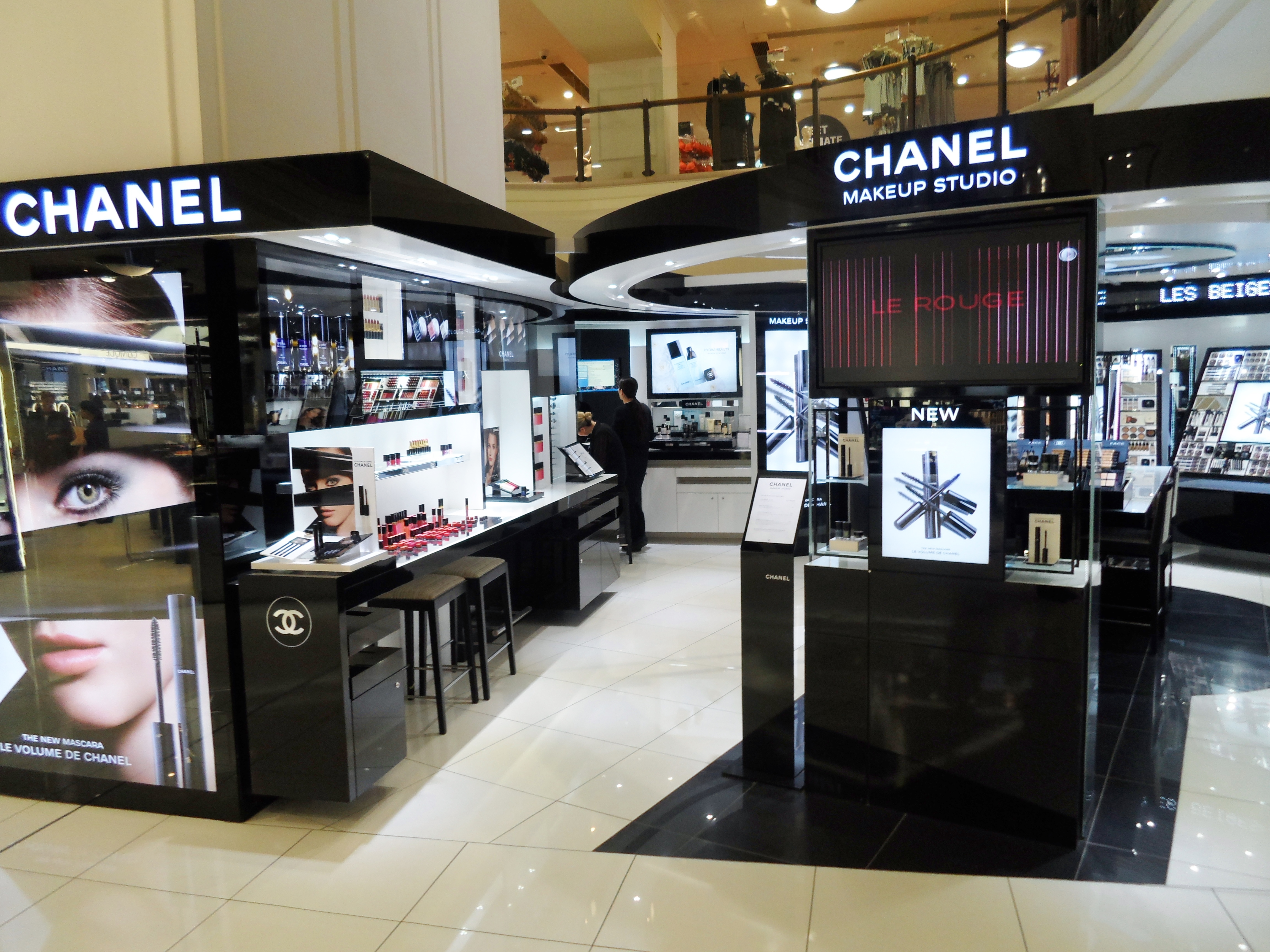 Chanel Makeup Myer Sydney City 2013jpg Wikipedia