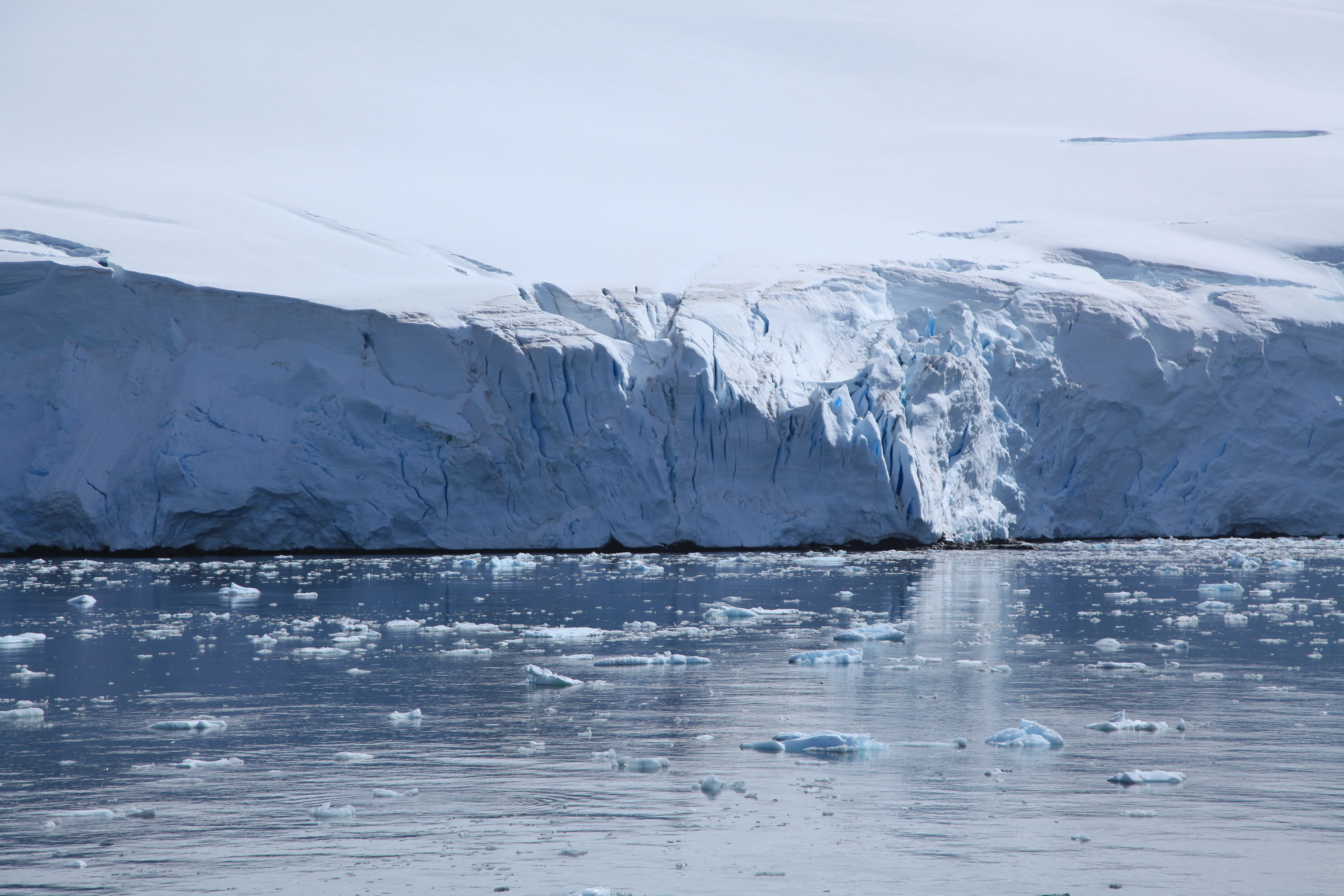 Ice Fall Wallpaper File Glacier In Penola Strait Antarctica 6060845182 Jpg