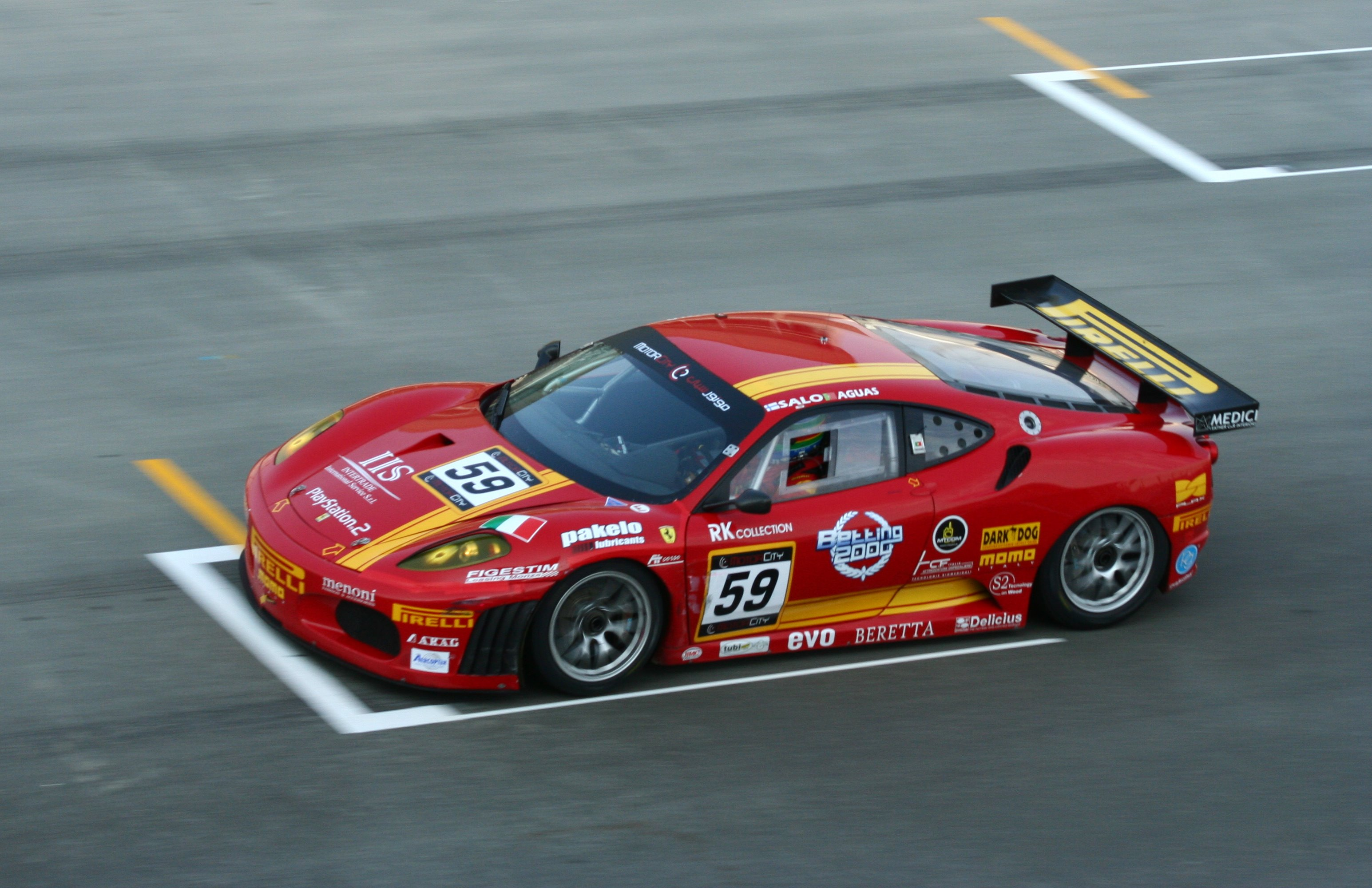 Racing Car Hd Wallpaper Free Download Af Corse Wikiwand