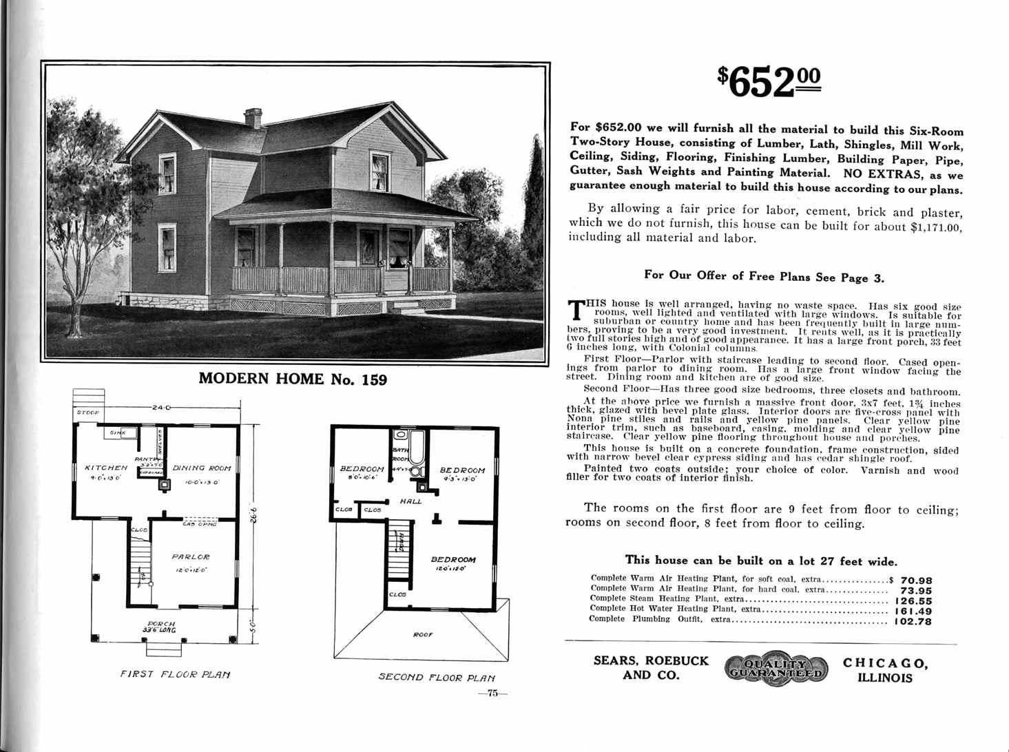 Gallery Of Sears Roebuck House Plans. FileSearsHome159jpg Wikimedia Commons