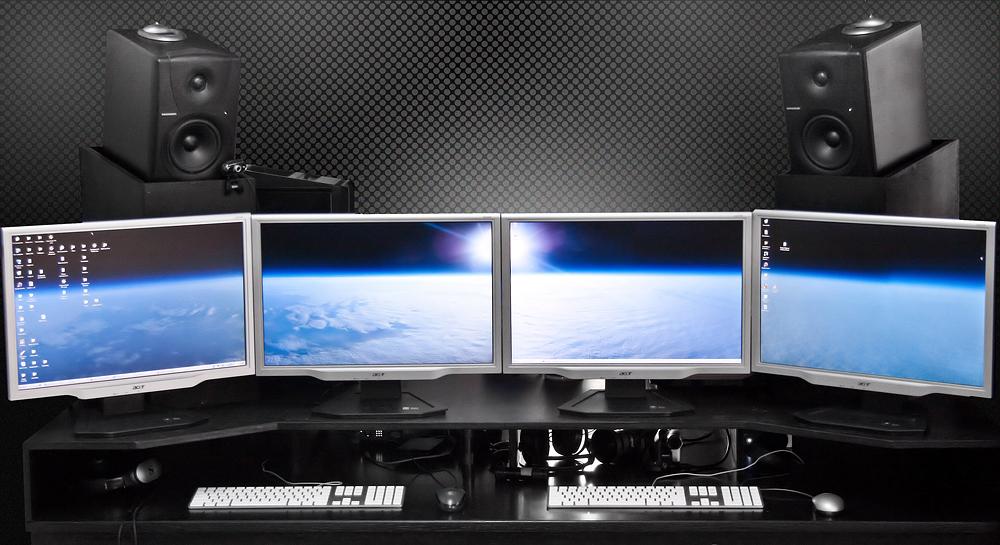 Multi-monitor - Wikipedia - multi screen display