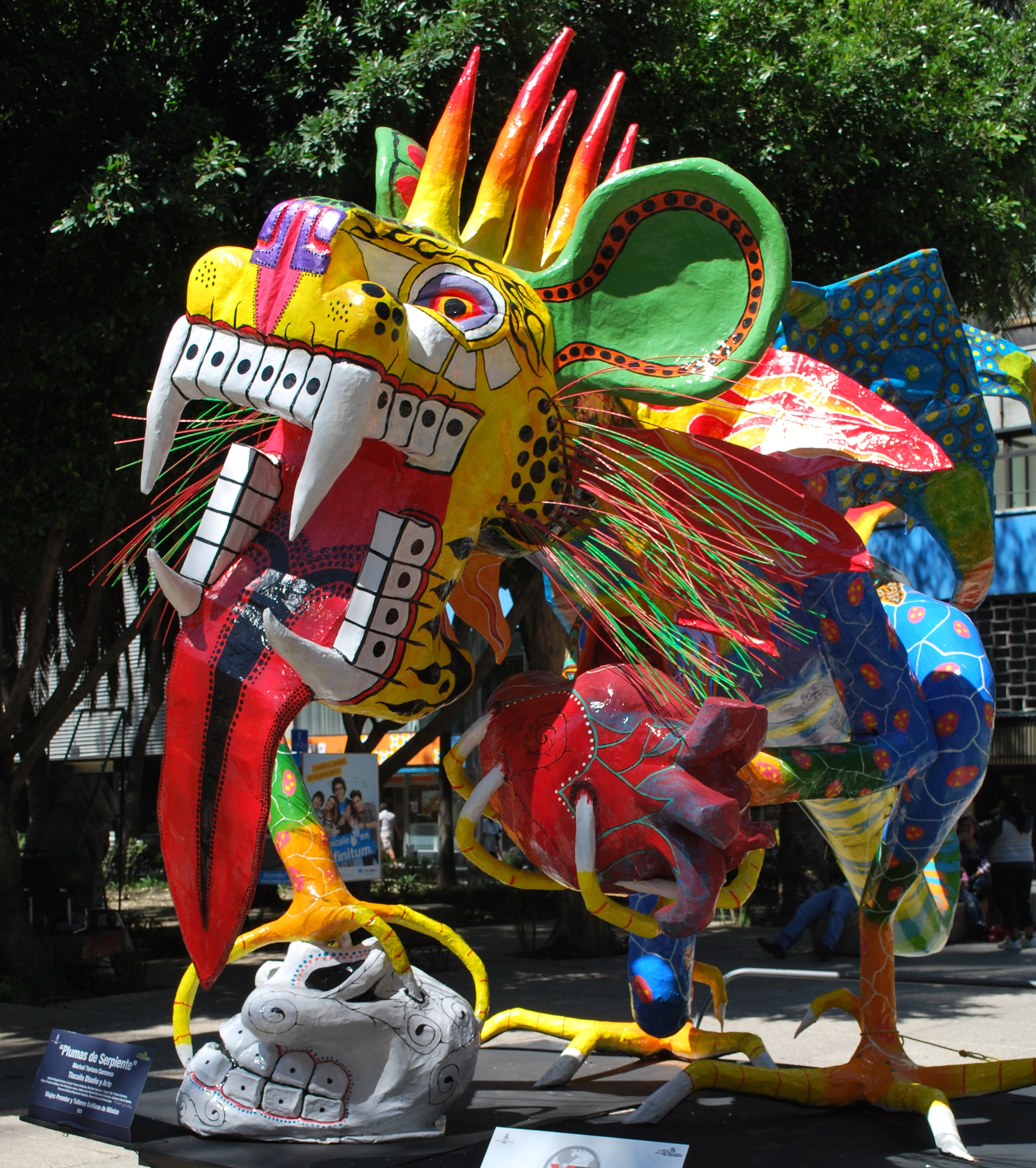 Mexico City Alebrije Parade Wikiwand