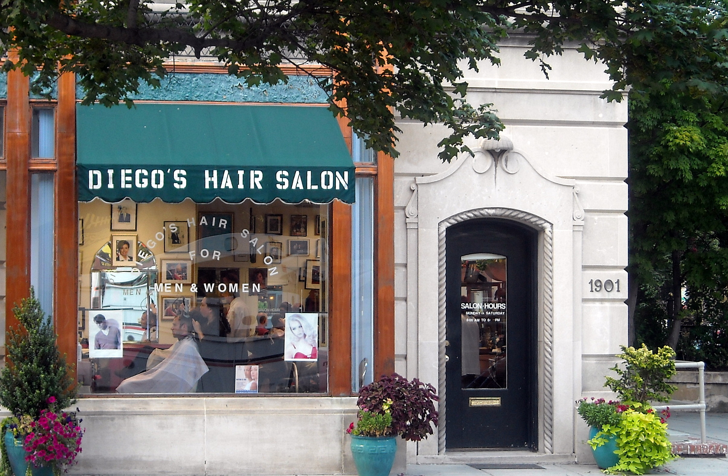 Hairdressing Salon Diego S Hair Salon Wikipedia