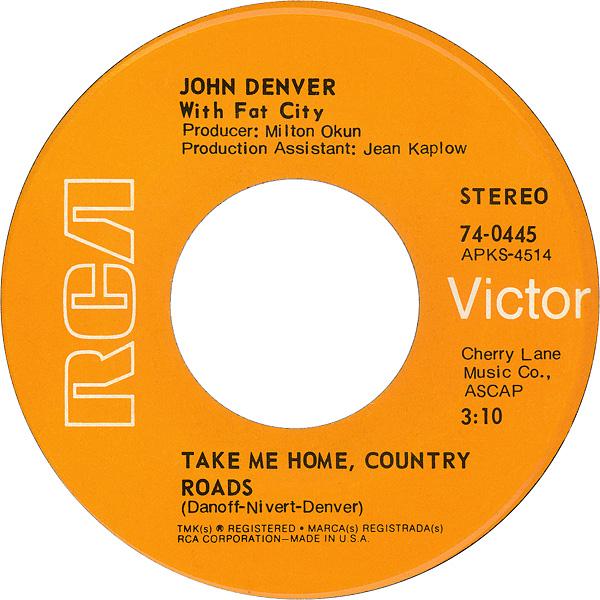 Take Me Home, Country Roads - Wikipedia