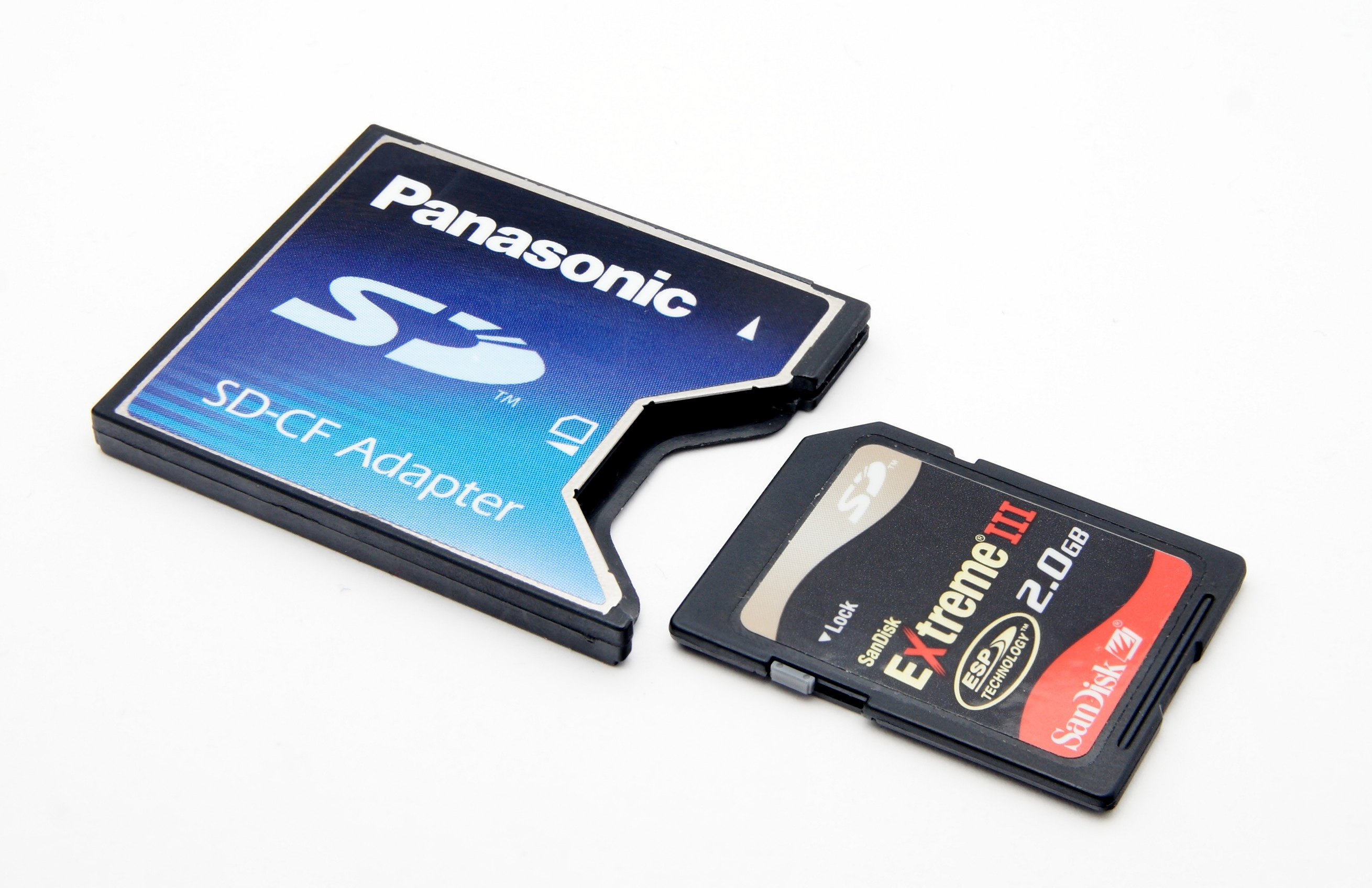 Compact Flash File:compactflash Securedigital Adapter.jpg - Wikimedia
