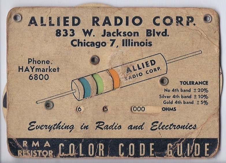 Electronic color code - Wikipedia