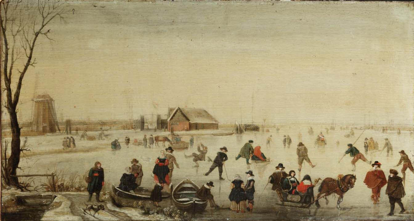 De Stomme Van Kampen File Studio Of Hendrick Avercamp A Winter Landscape With Skaters