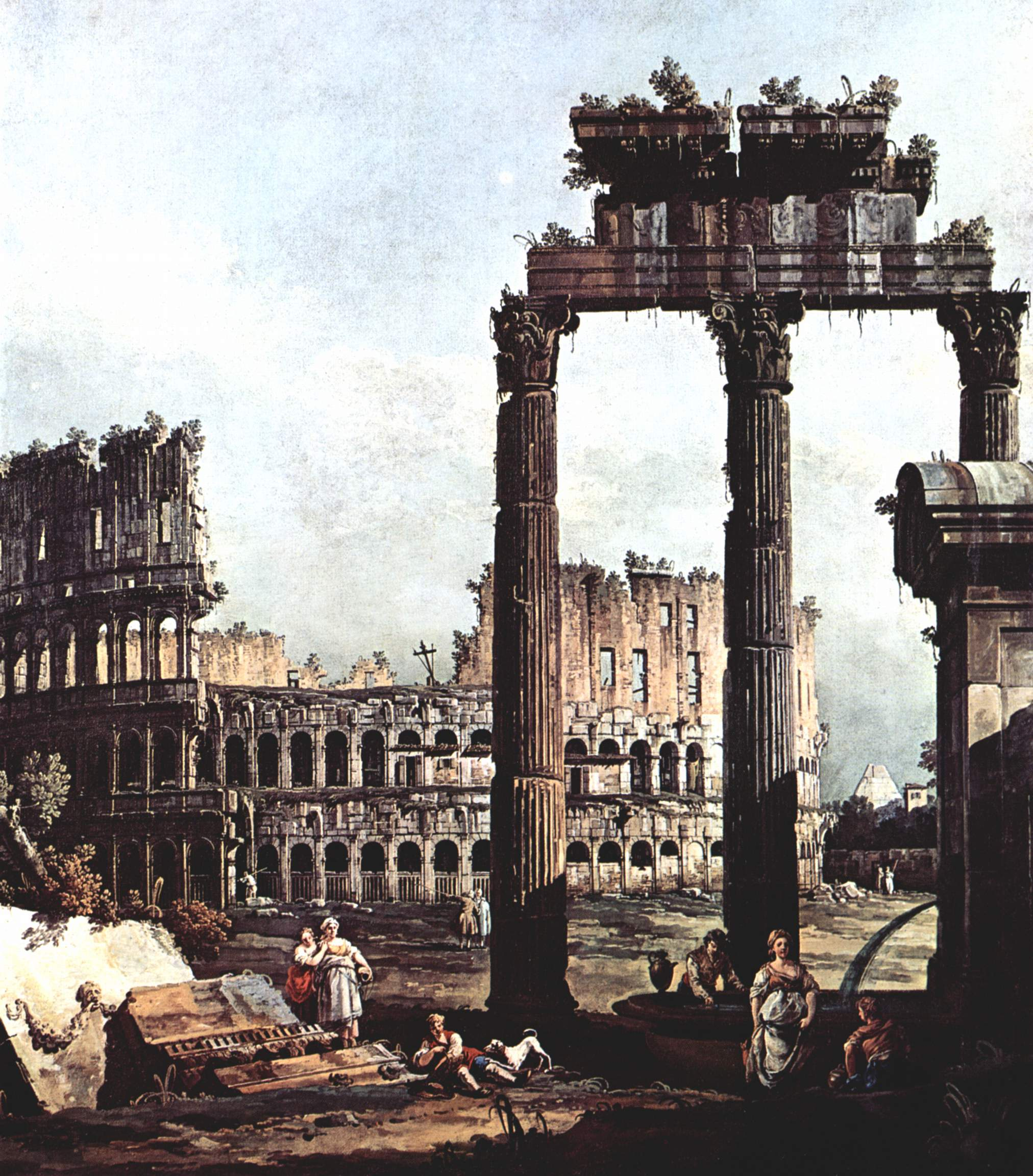 Pittura Neoclassica Italiana Grand Tour Wikipedia