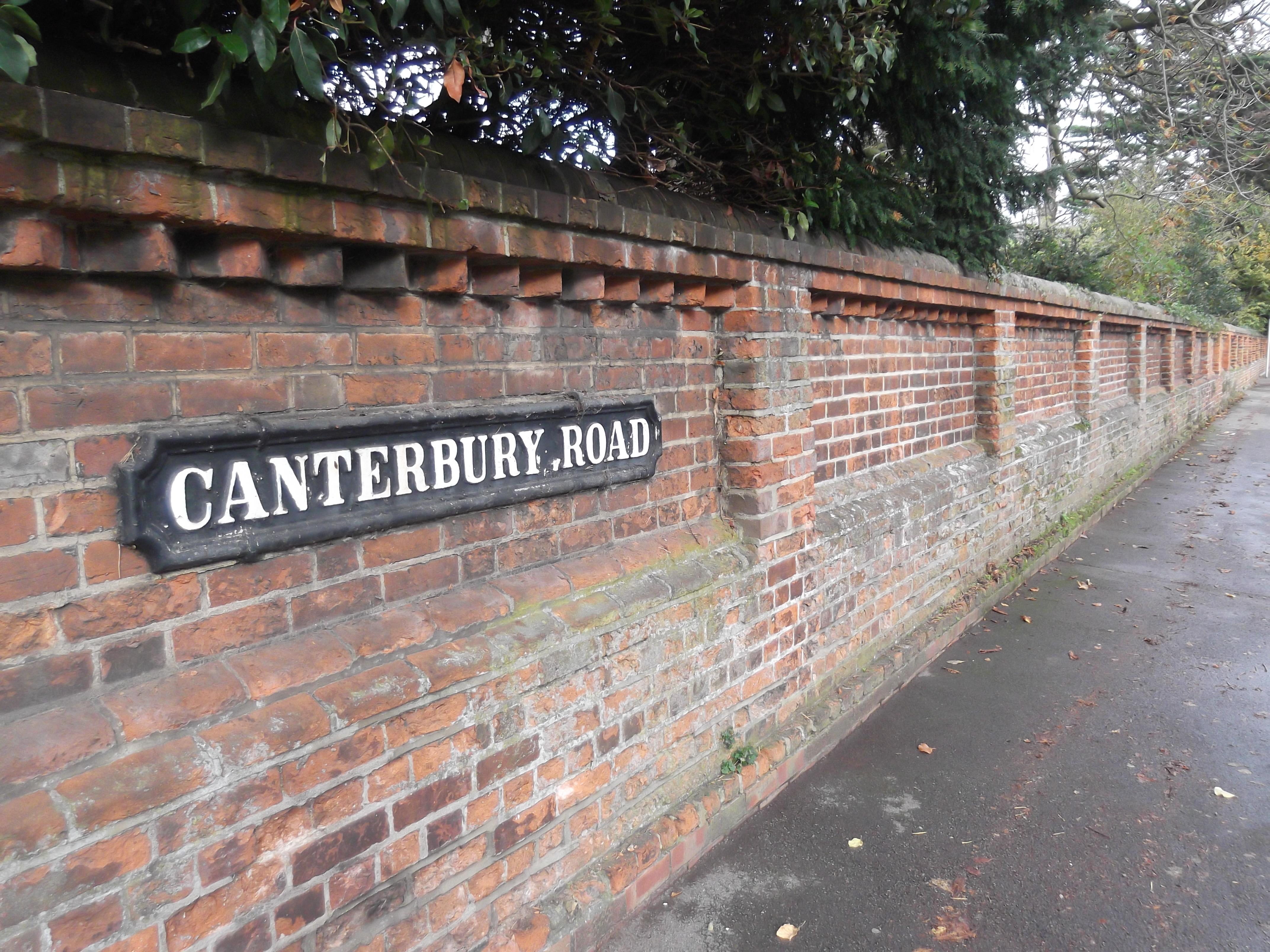 Filecanterbury Road Wall Oxfordjpg Wikimedia Commons