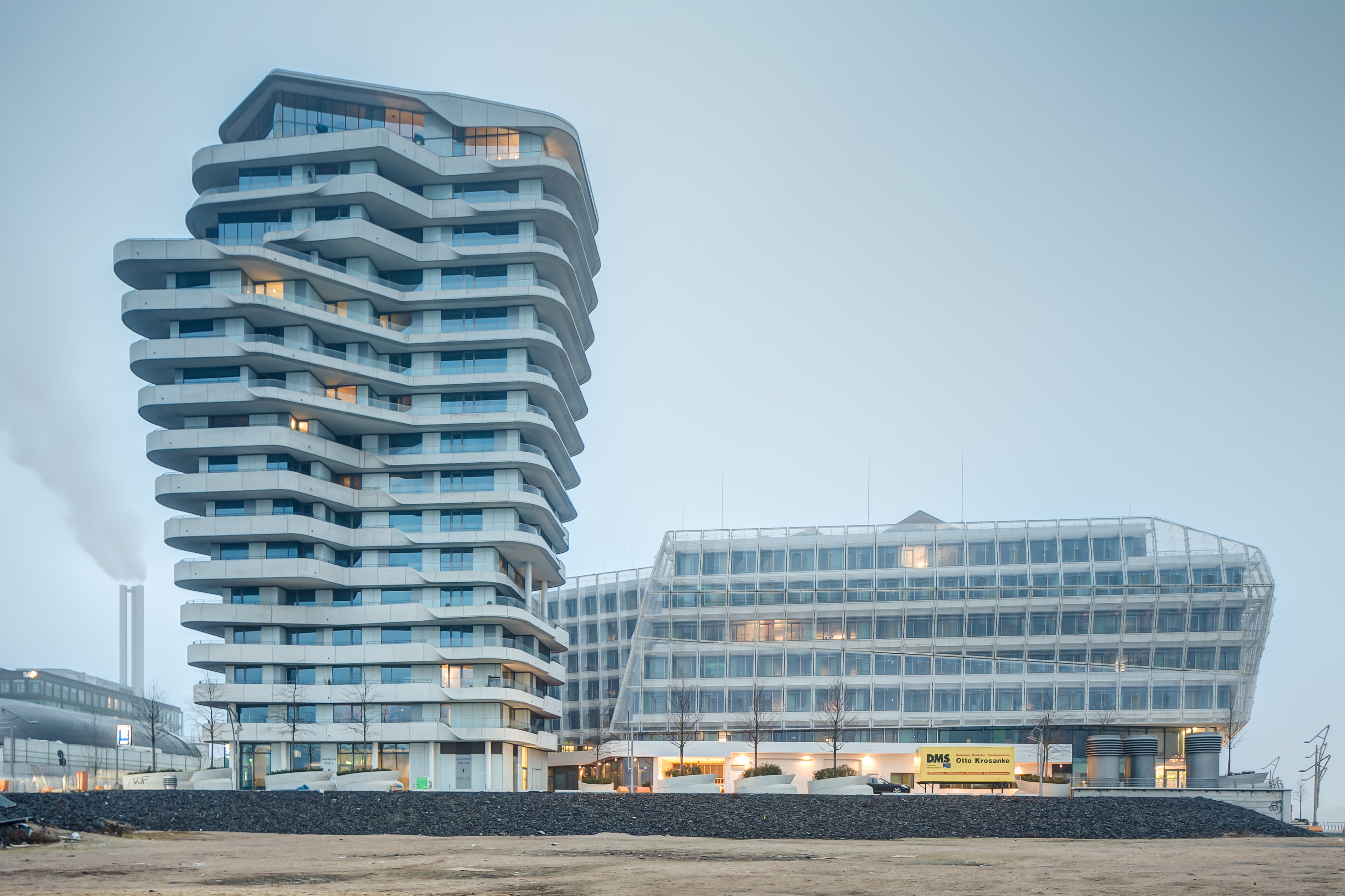 Tower Hamburg Most Sustainable Buildings Around The World - Best Green