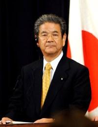 Defense Minister Toshimi Kitazawa