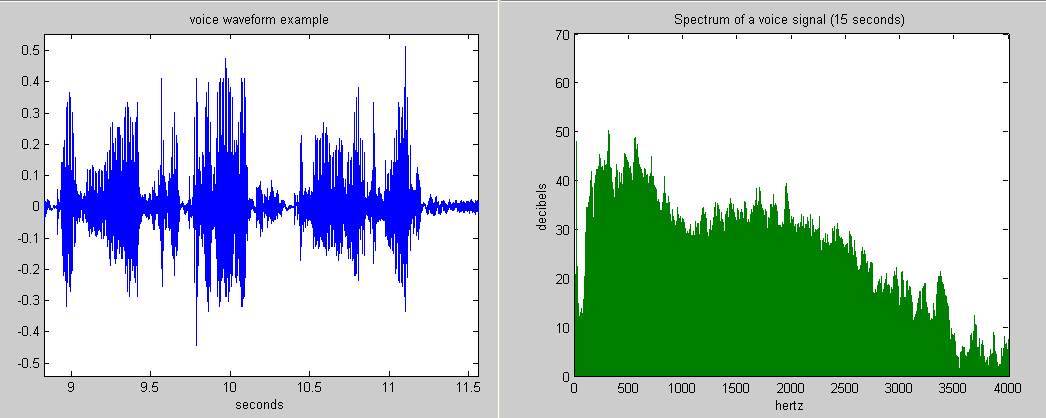 Frequency Spectrum Of Voice