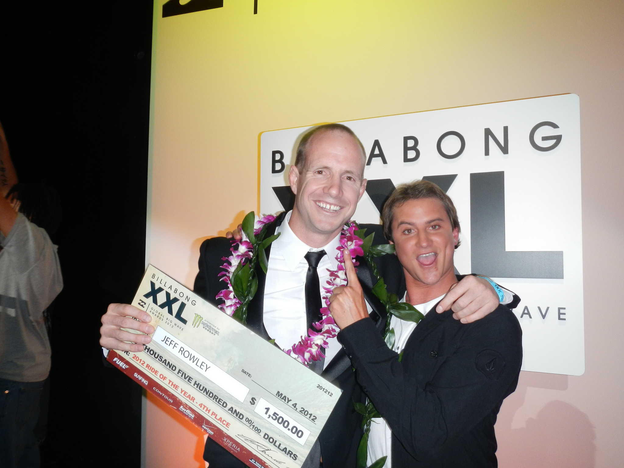 Big Xxl File Jeff Rowley Billabong Xxl Big Wave Awards 2012 Ride Of The