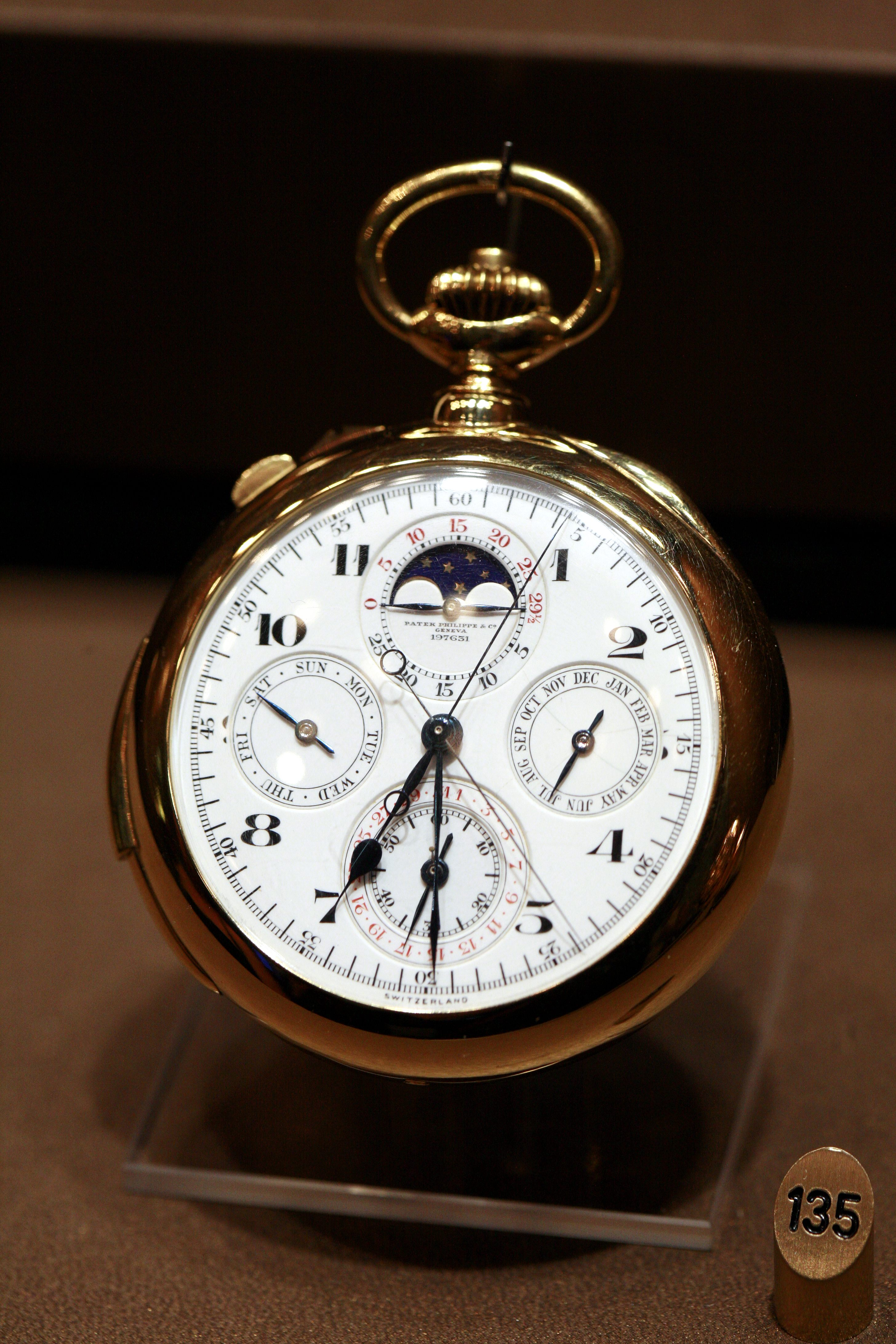 P Philippe Watch List Of Most Expensive Watches Sold At Auction Wikipedia