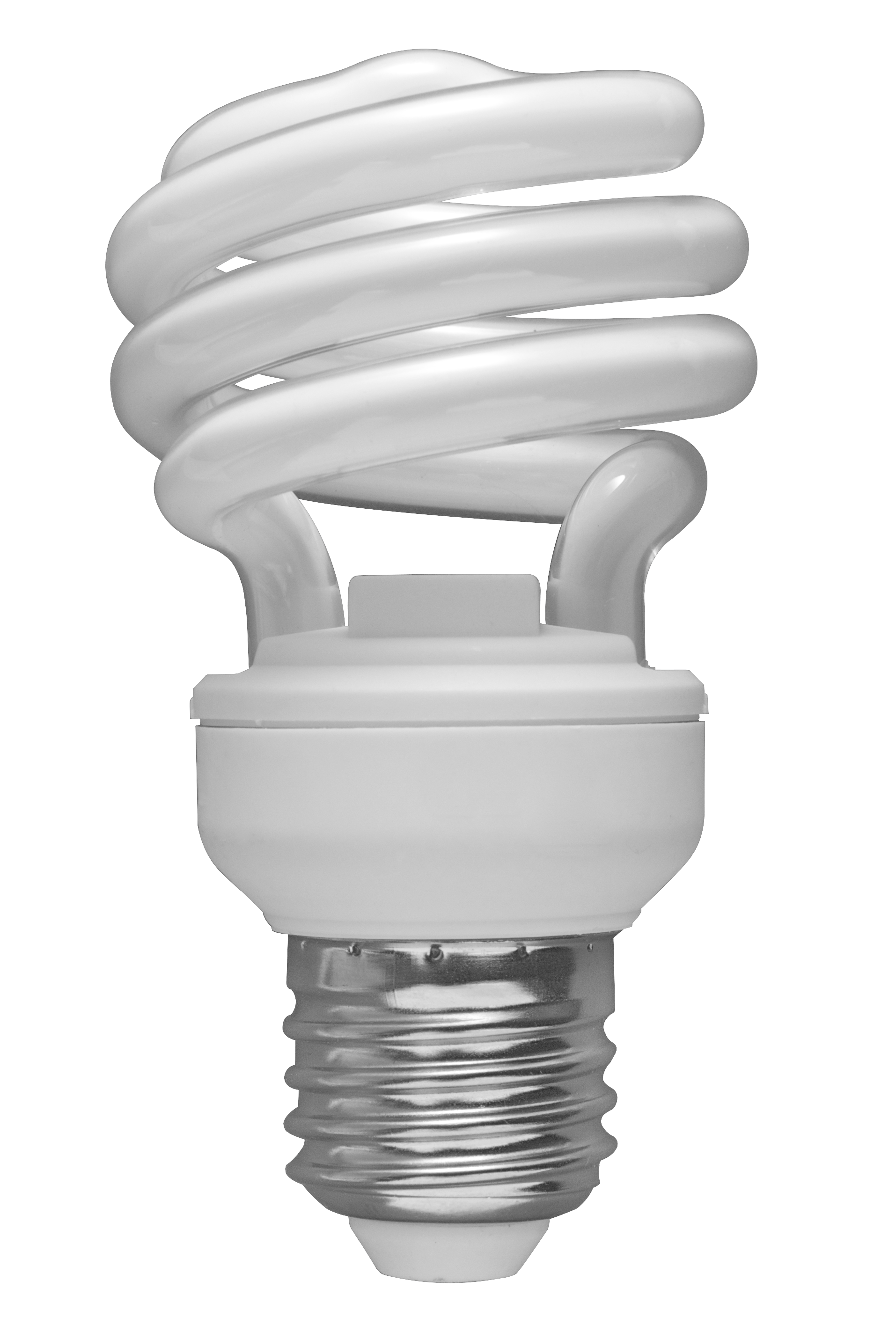 Glowing Light Bulb Png File 01 Spiral Cfl Bulb 2010 03 08 Transparent Back Png