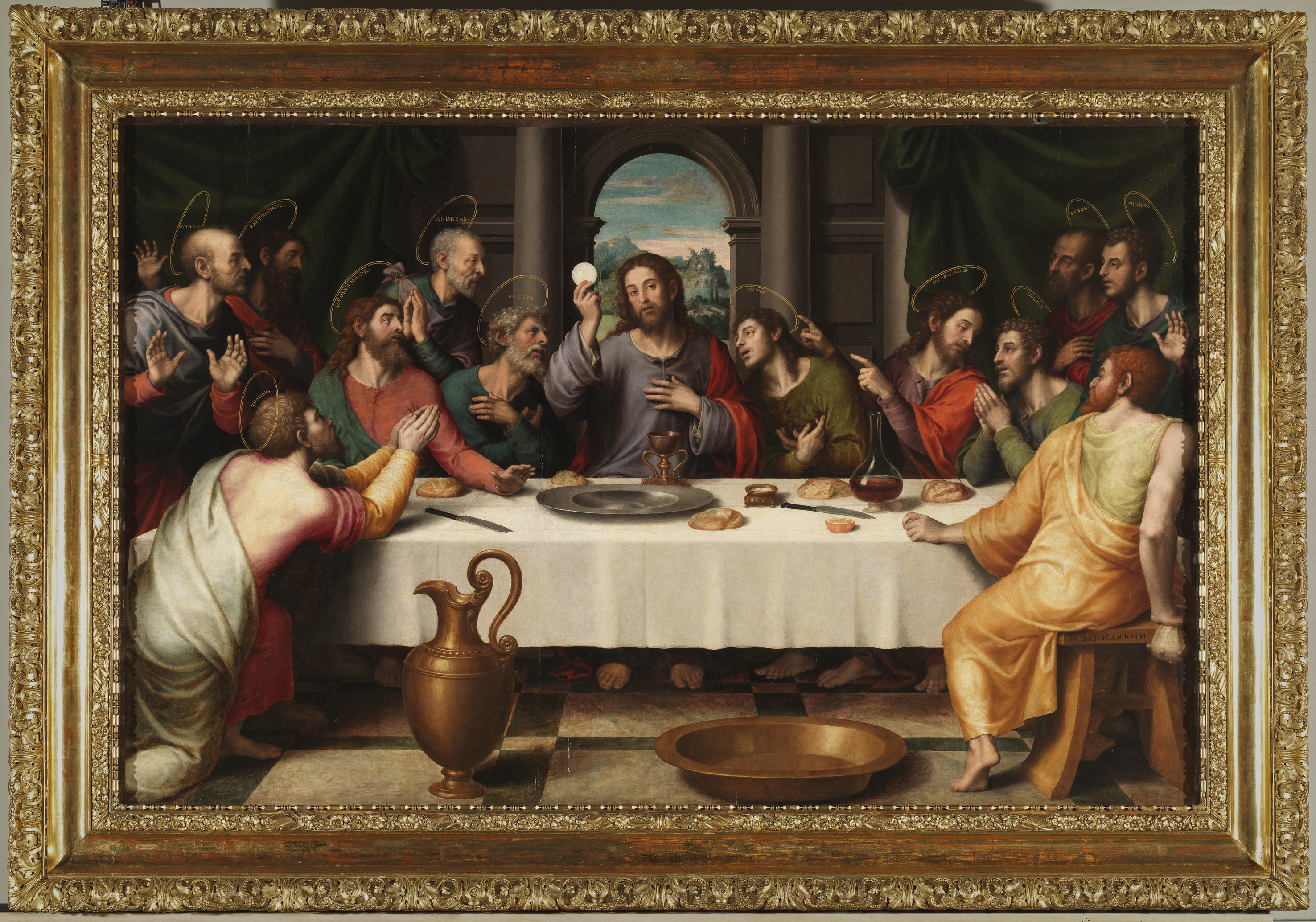 Cuadro De Leonardo Da Vinci La Ultima Cena The Last Supper Thewalkingdead