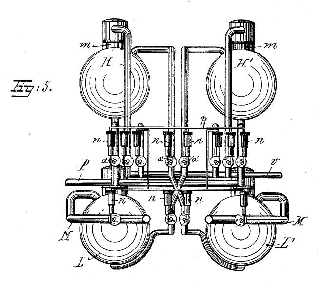 vacuum pump schematic diagram