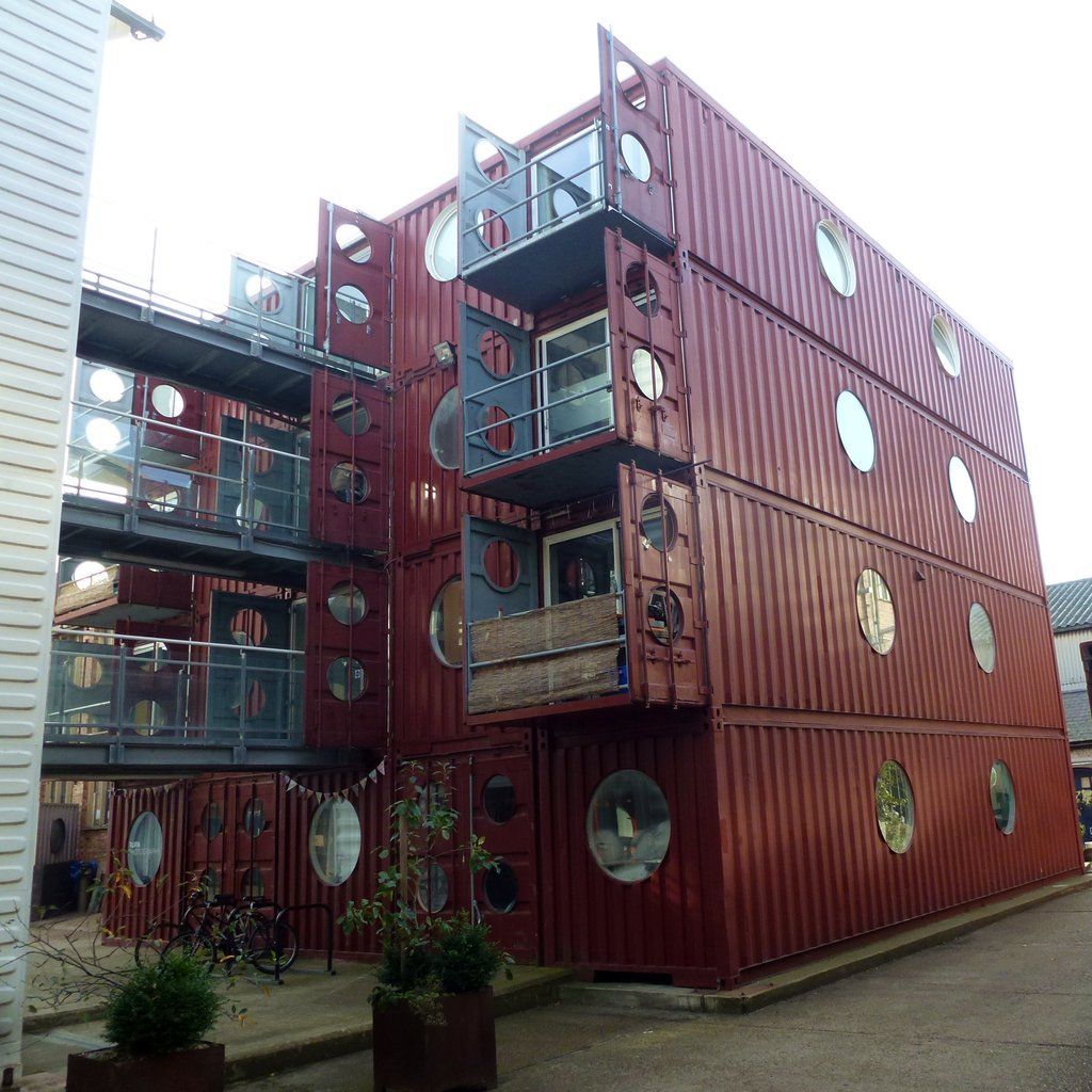 Container Haus London Conteneur