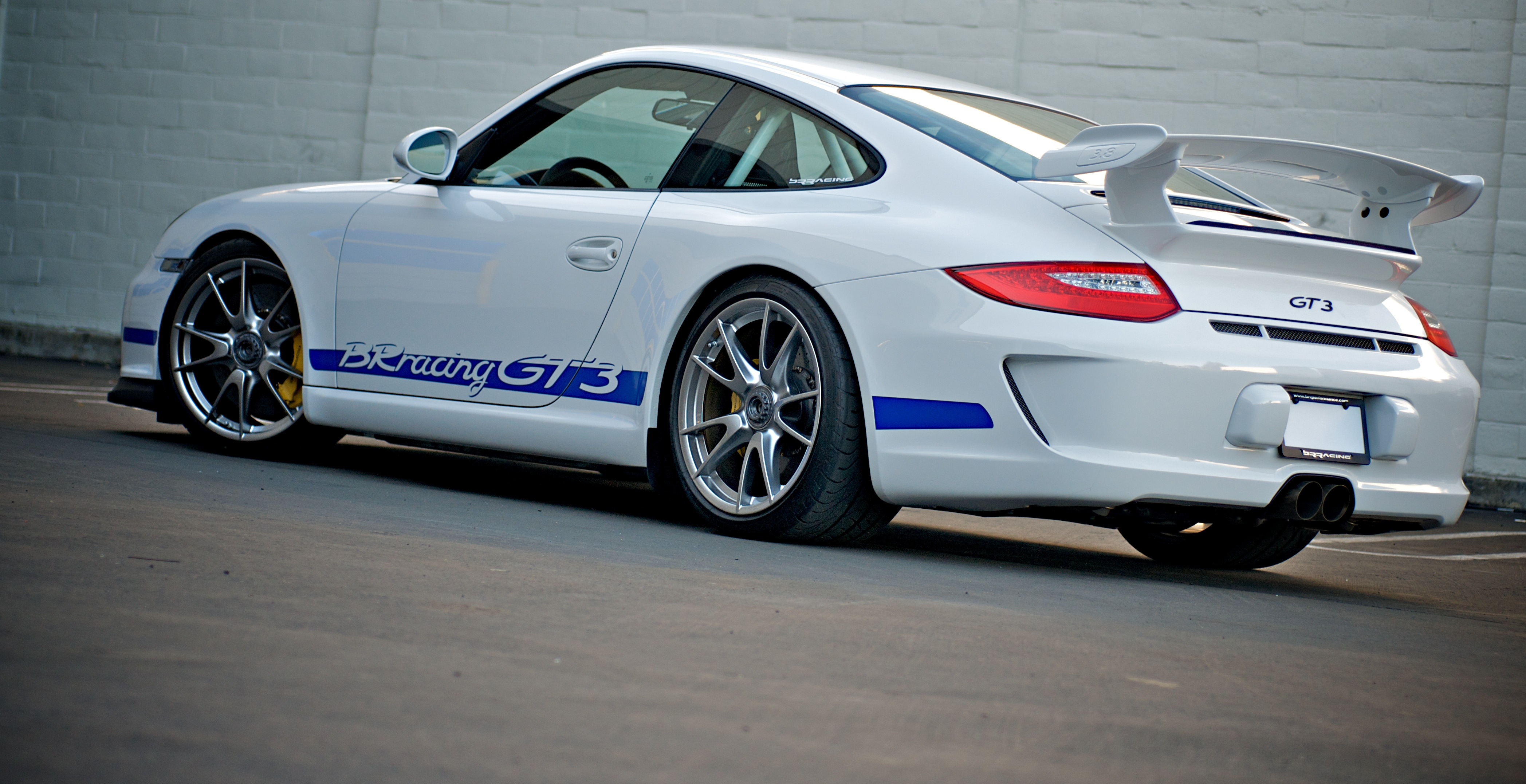 Racing Car Pictures Wallpaper File Brracing Porsche 997 Gt3 Rear Jpg Wikimedia Commons